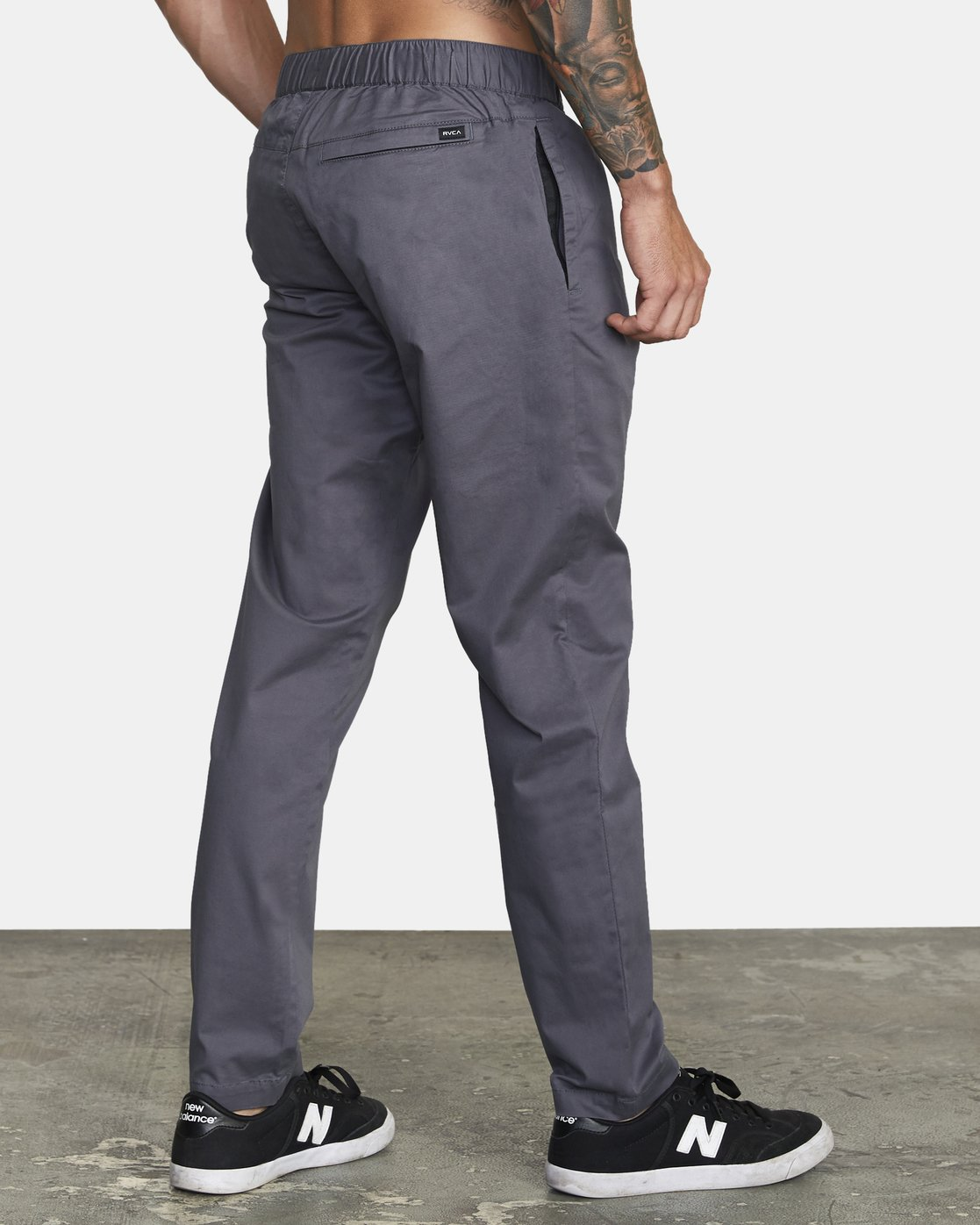 5 SPECTRUM III WOVEN PANT Grey V3061RSP RVCA