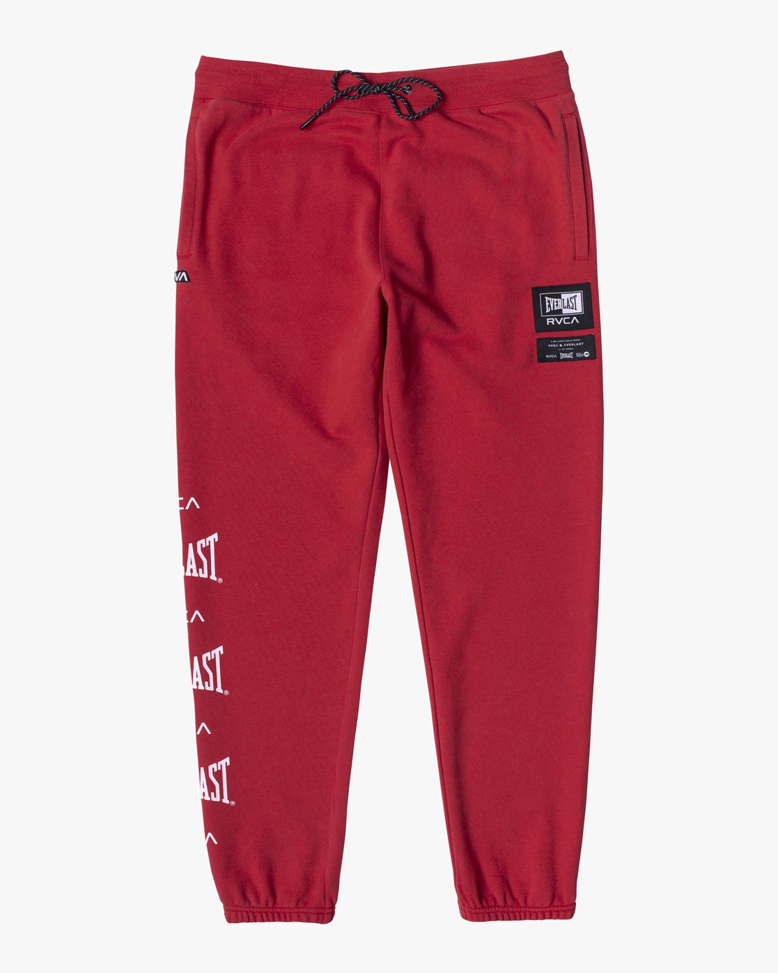 1 EVERLAST SPORT SWEATPANT Red V3071RES RVCA