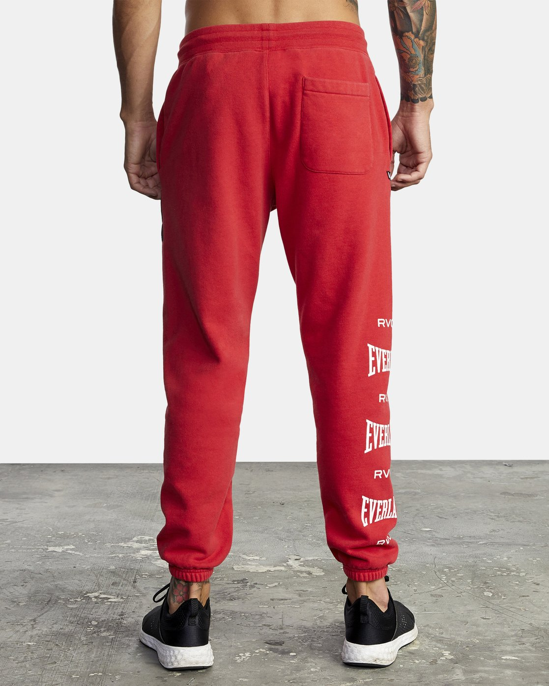 9 EVERLAST SPORT SWEATPANT Red V3071RES RVCA