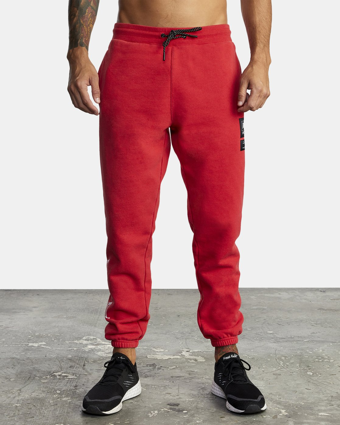 8 EVERLAST SPORT SWEATPANT Red V3071RES RVCA