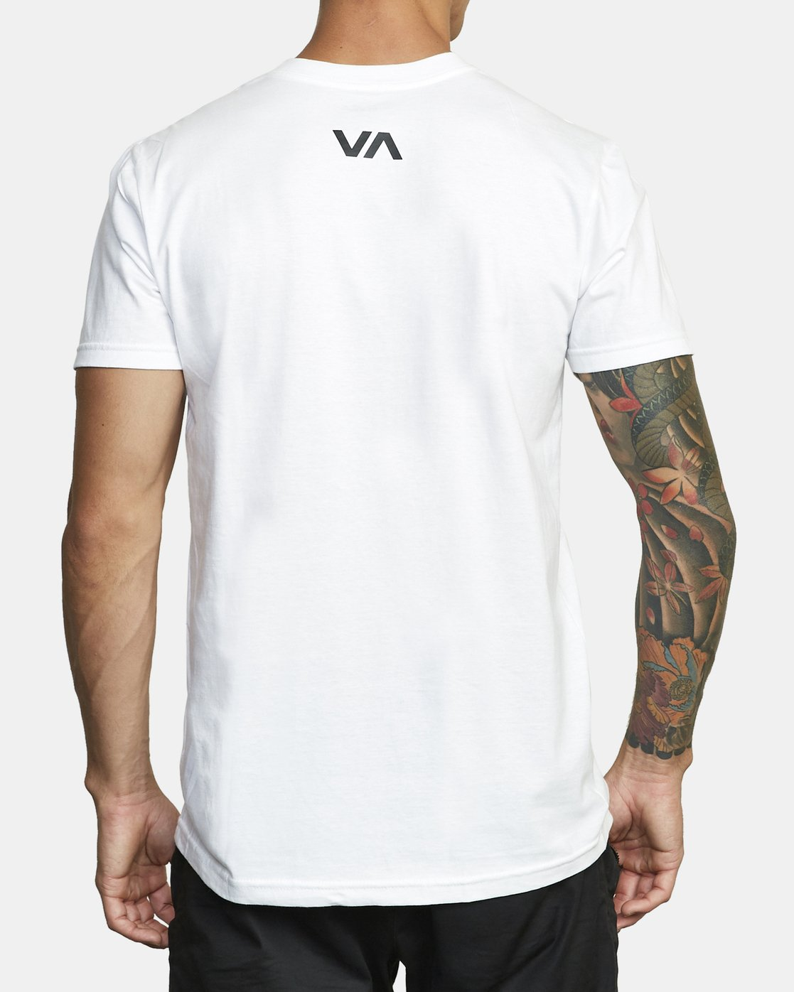 1 BOX OUT SHORT SLEEVE TEE White V4013RBO RVCA