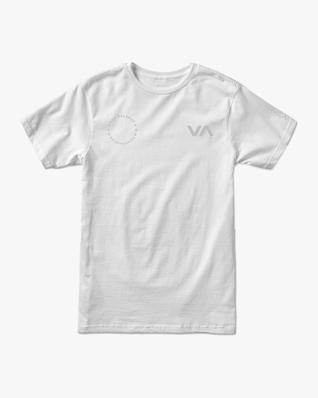 1 Stealth Seal T-Shirt White V401TRST RVCA