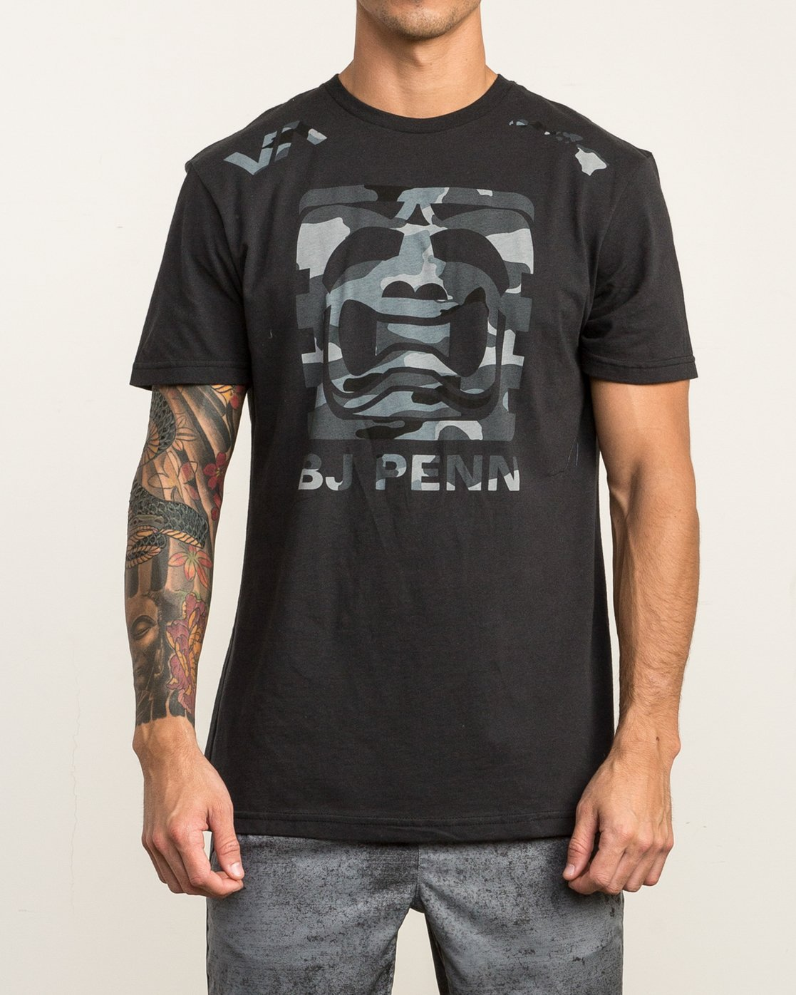 1 All Penn T-Shirt Black V402SRAL RVCA