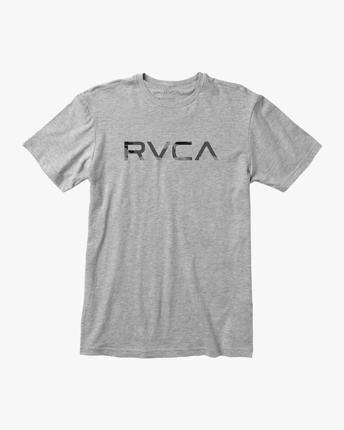 1 Big RVCA Sport T-Shirt Grey V402SRBI RVCA
