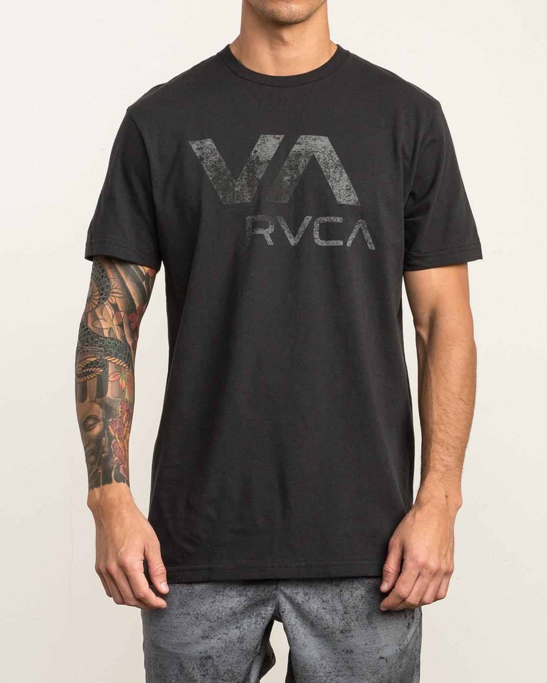 1 VA RVCA Sport T-Shirt Black V402SRVA RVCA
