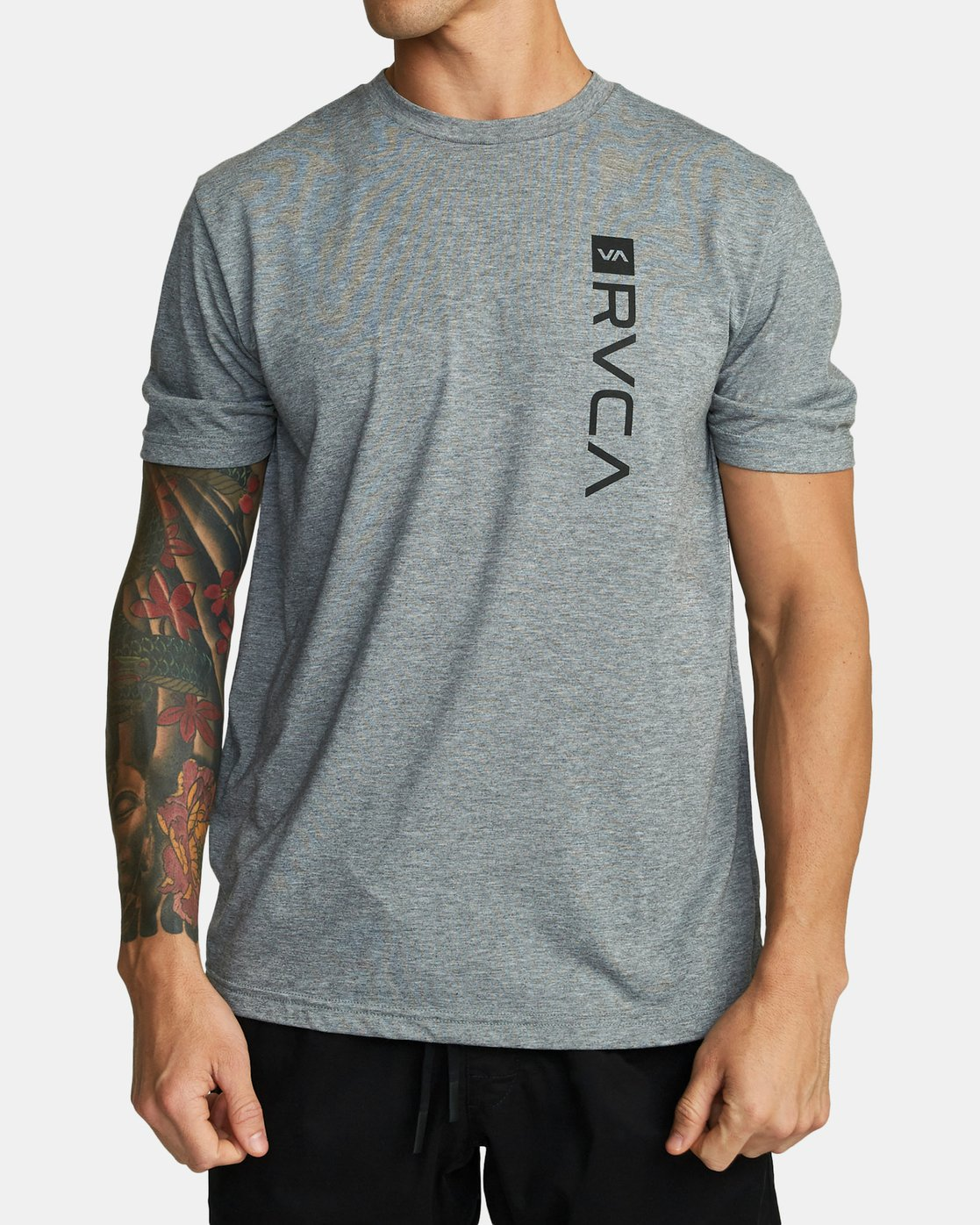 0 RVCA BOX T-SHIRT Grey V4041RBO RVCA