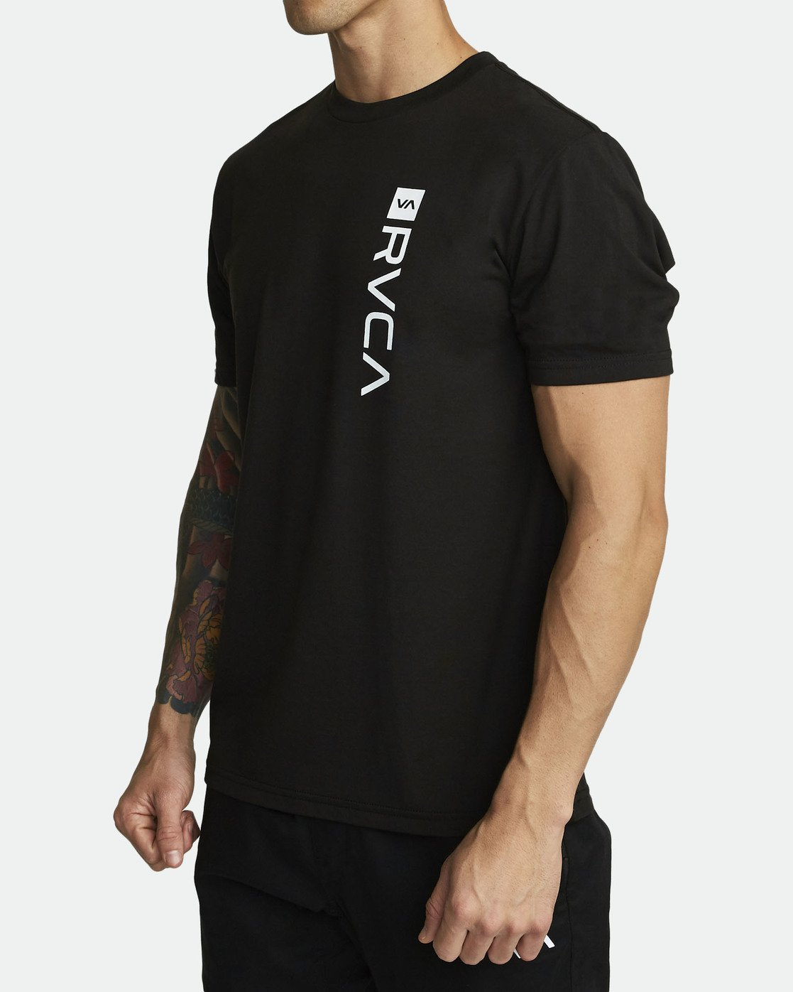 1 RVCA BOX T-SHIRT Black V4041RBO RVCA