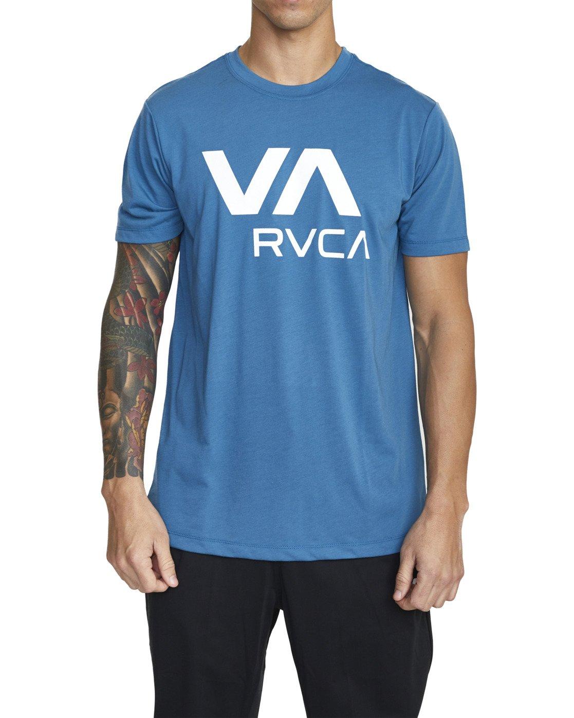 4 VA RVCA SHORT SLEEVE TEE Black V4043RVR RVCA