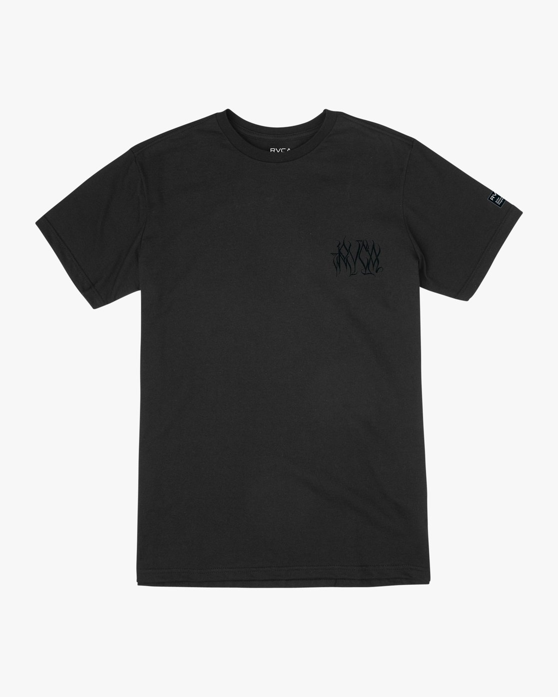 0 Defer Chest Performance T-Shirt Black V404UREF RVCA