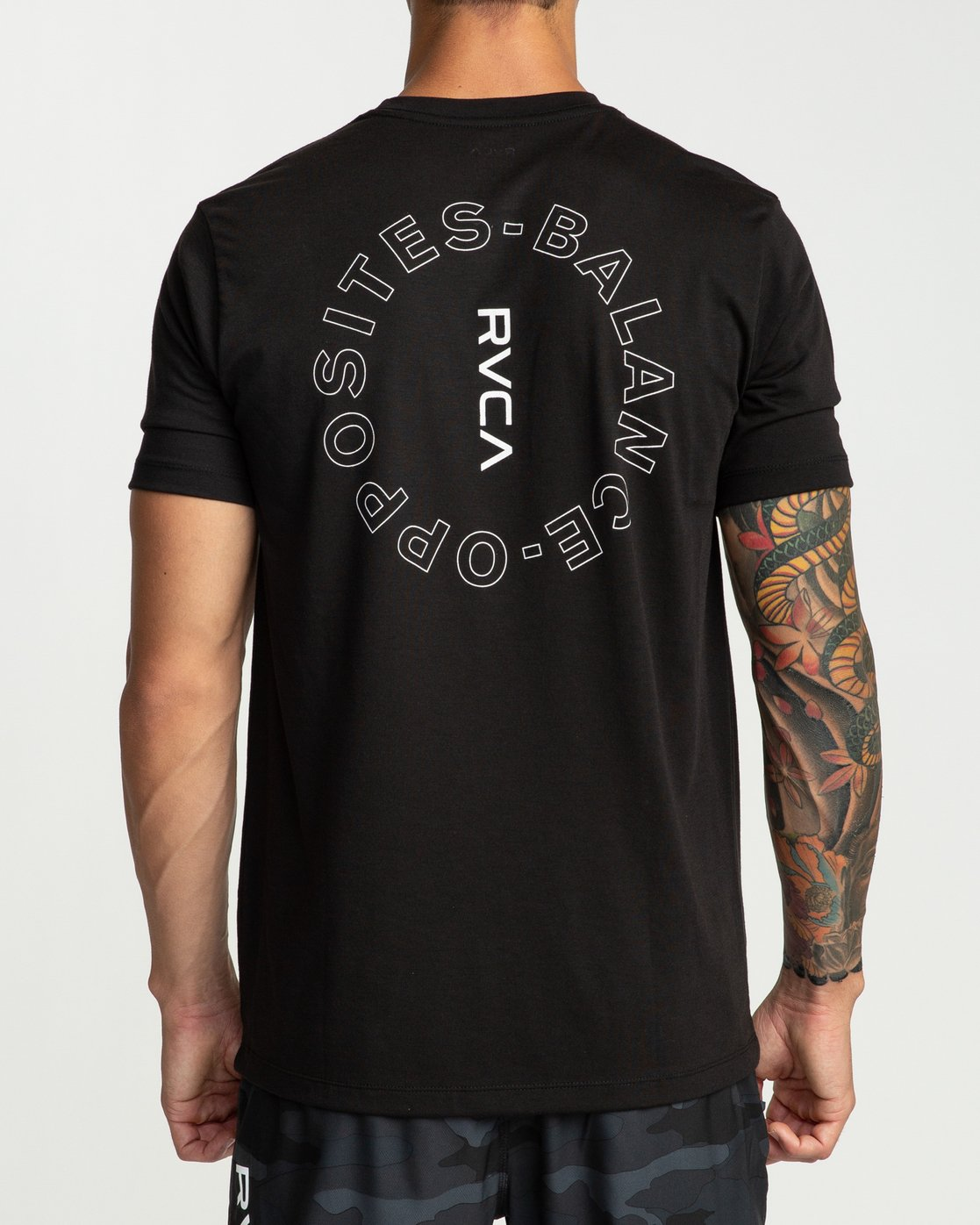 4 Pin Around Performance T-Shirt Black V404URPI RVCA