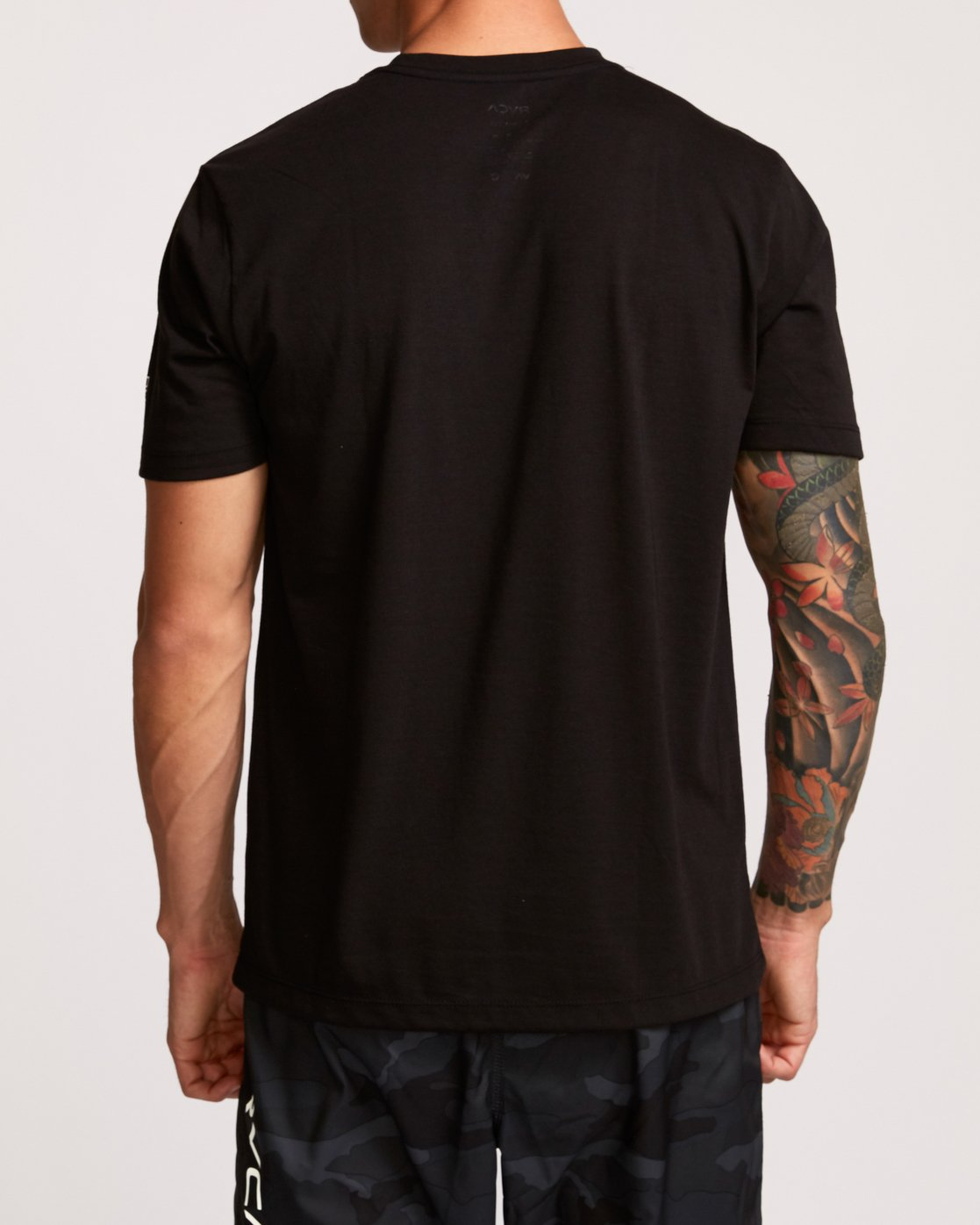 3 Brand Over Balance T-Shirt Black V404VRBR RVCA