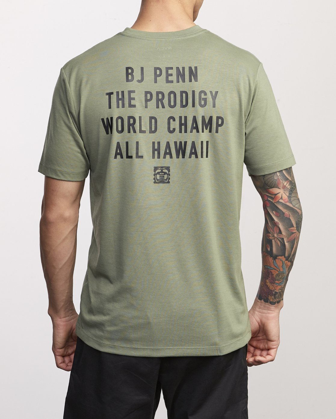 2 BJ Penn World Champ Drirelease T-Shirt  V404WRBW RVCA