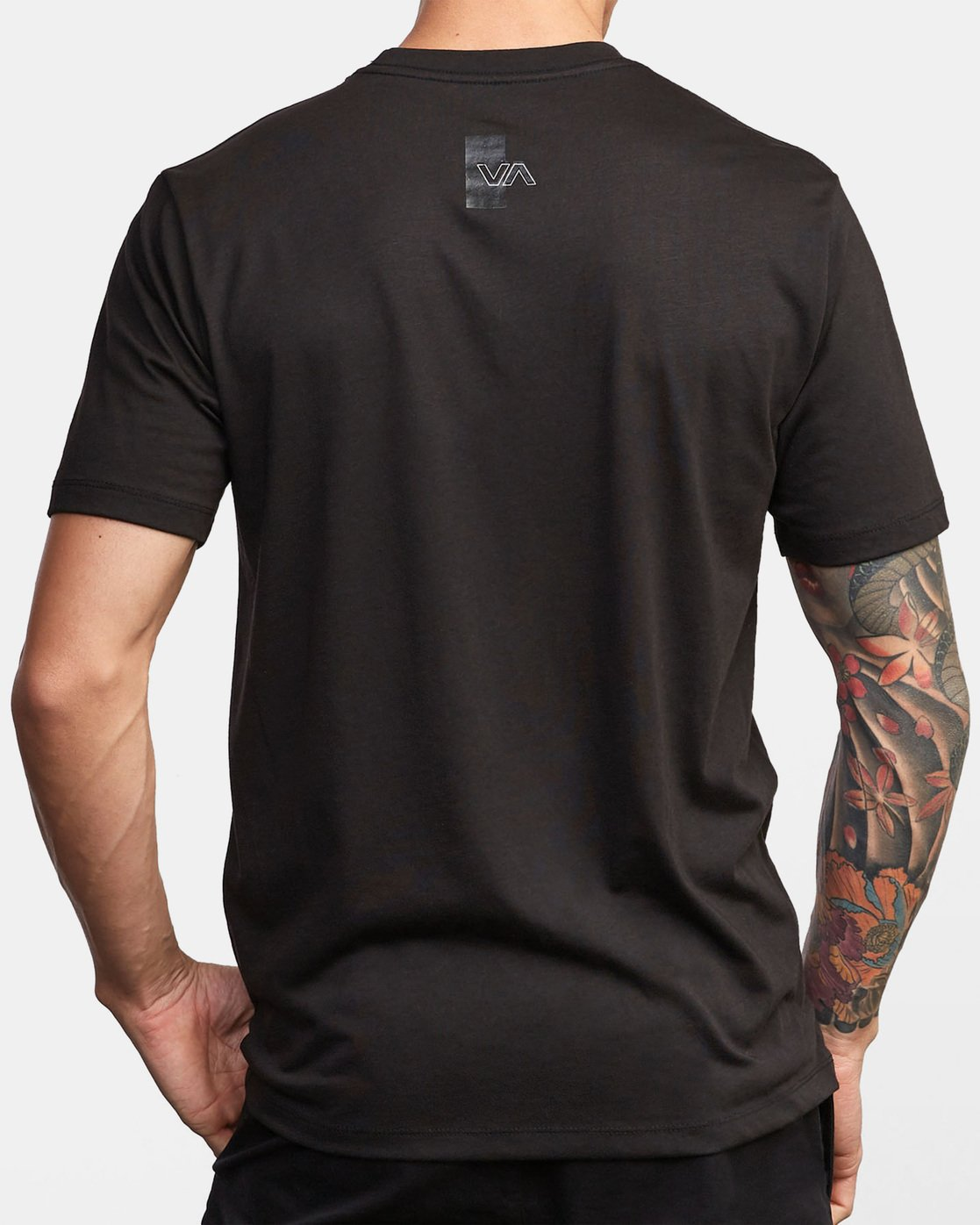1 VA Out Drirelease T-Shirt Black V404WRVO RVCA
