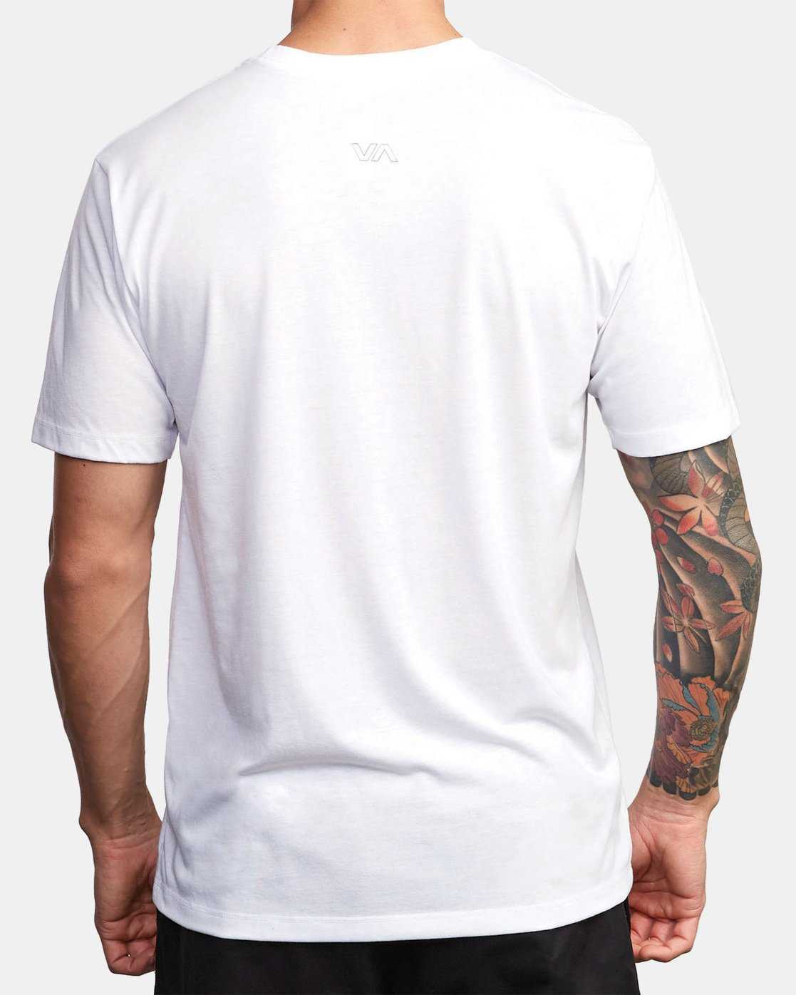 1 VA Out Drirelease T-Shirt White V404WRVO RVCA