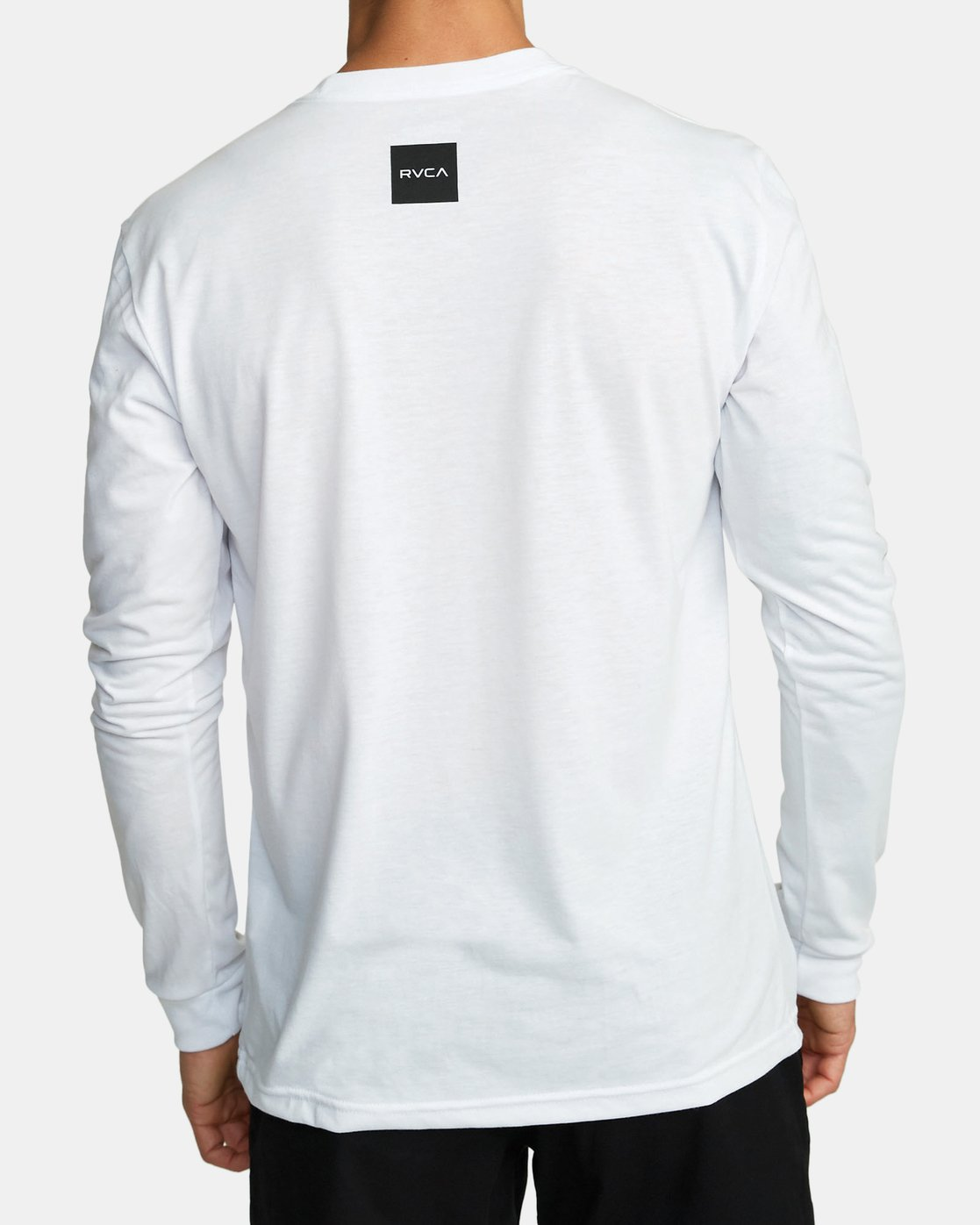 3 ALL OUT RVCA LONG SLEEVE TOP White V4531RAO RVCA