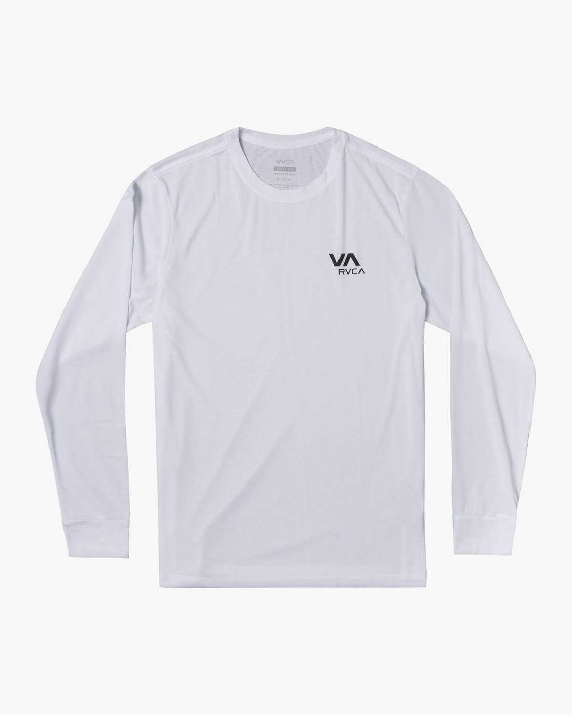 0 VA RVCA LONG SLEEVE TEE White V4533RVR RVCA