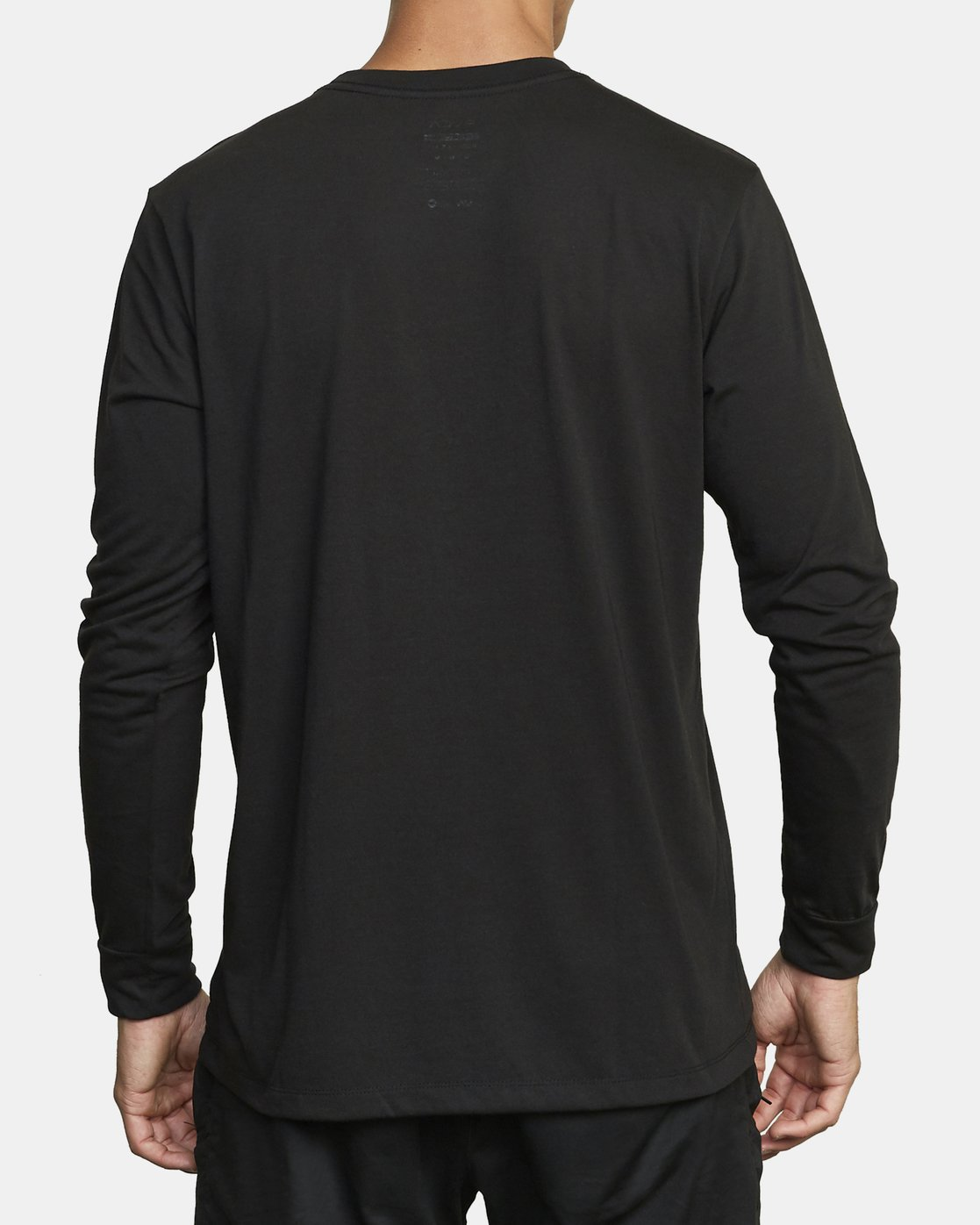 2 VA RVCA LONG SLEEVE TEE Black V4533RVR RVCA