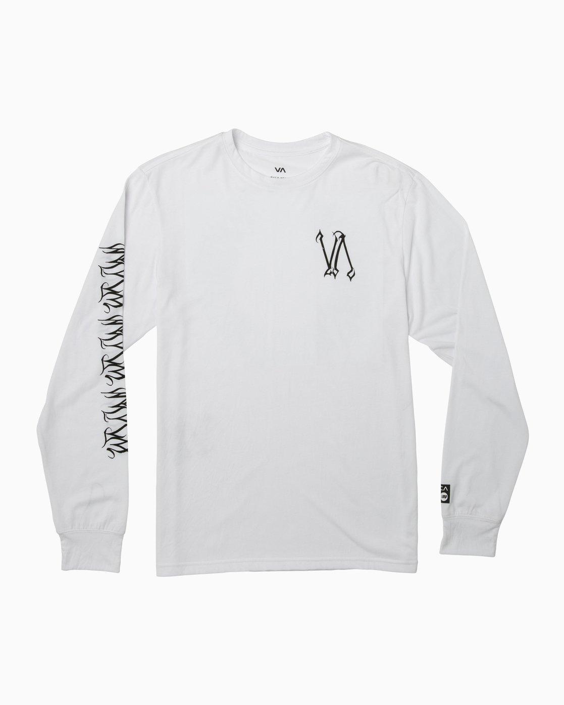 0 Defer Sphere Performance T-Shirt White V453TRDE RVCA