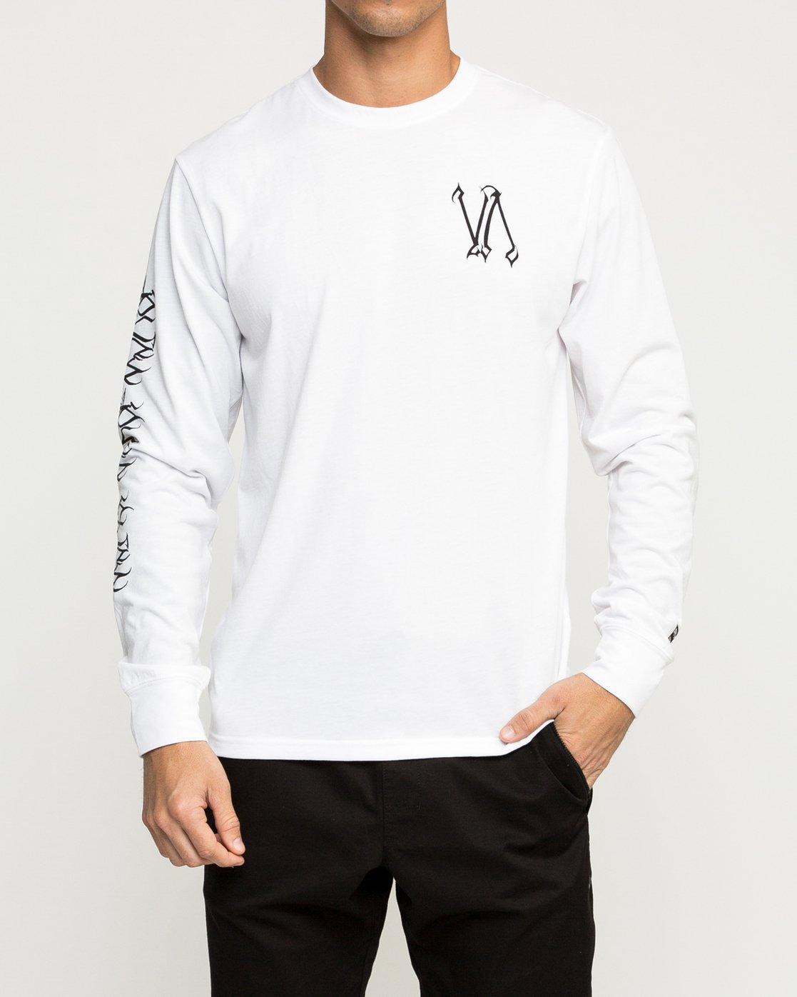 2 Defer Sphere Performance T-Shirt White V453TRDE RVCA