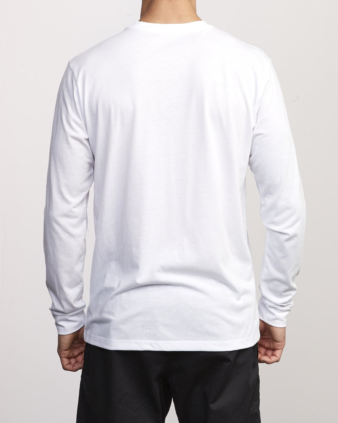 2 VA Out Drirelease Long Sleeve T-Shirt White V453WRVO RVCA
