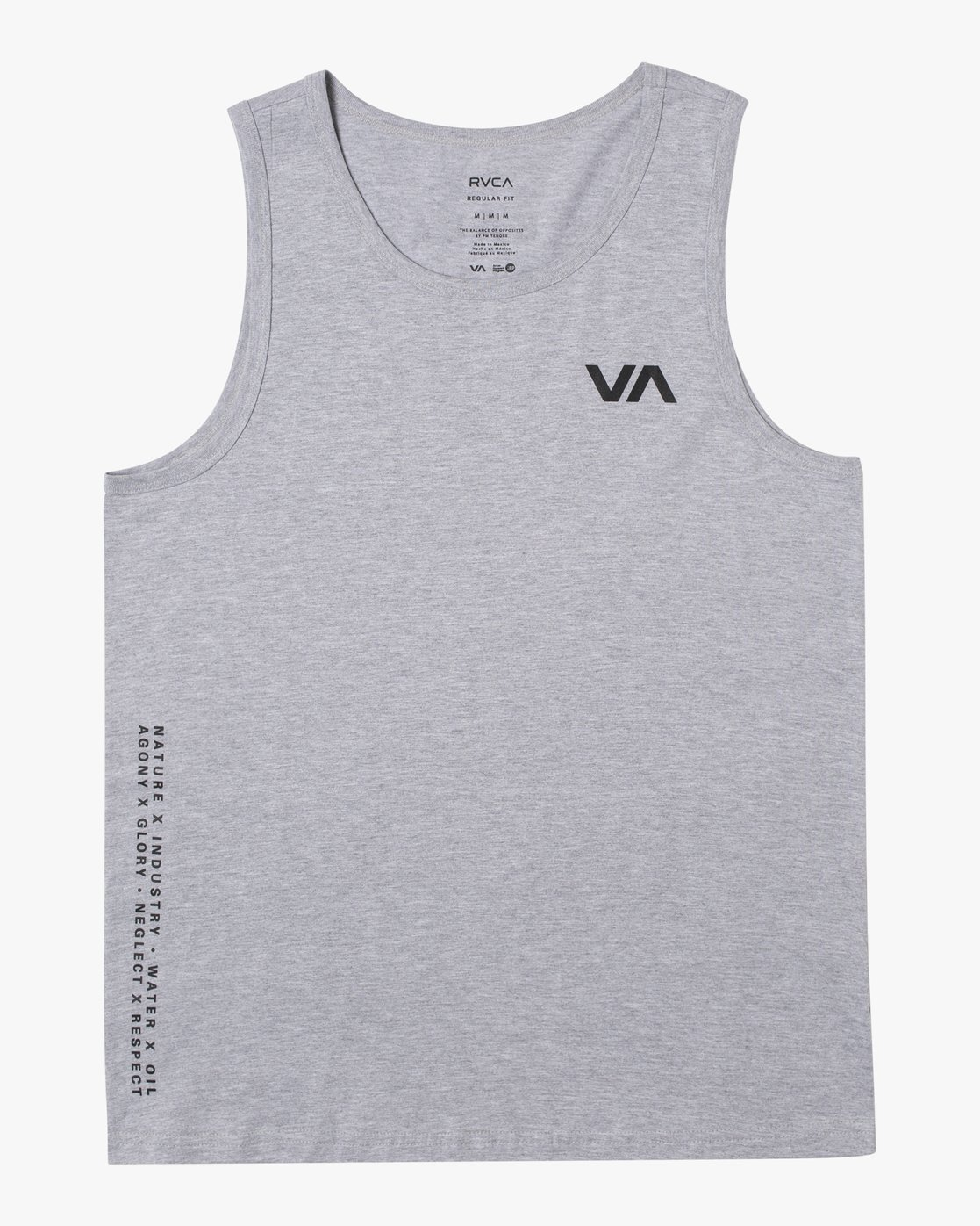 0 BALANCE ARC TANK TOP Red V4813RBA RVCA