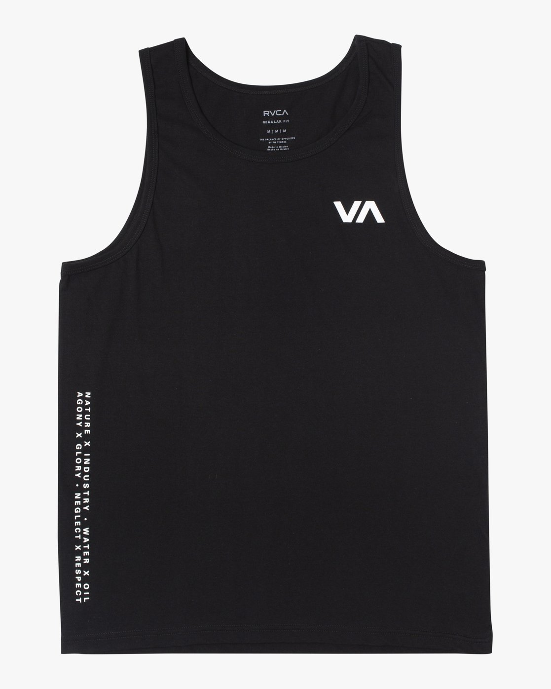 0 BALANCE ARC TANK TOP Black V4813RBA RVCA