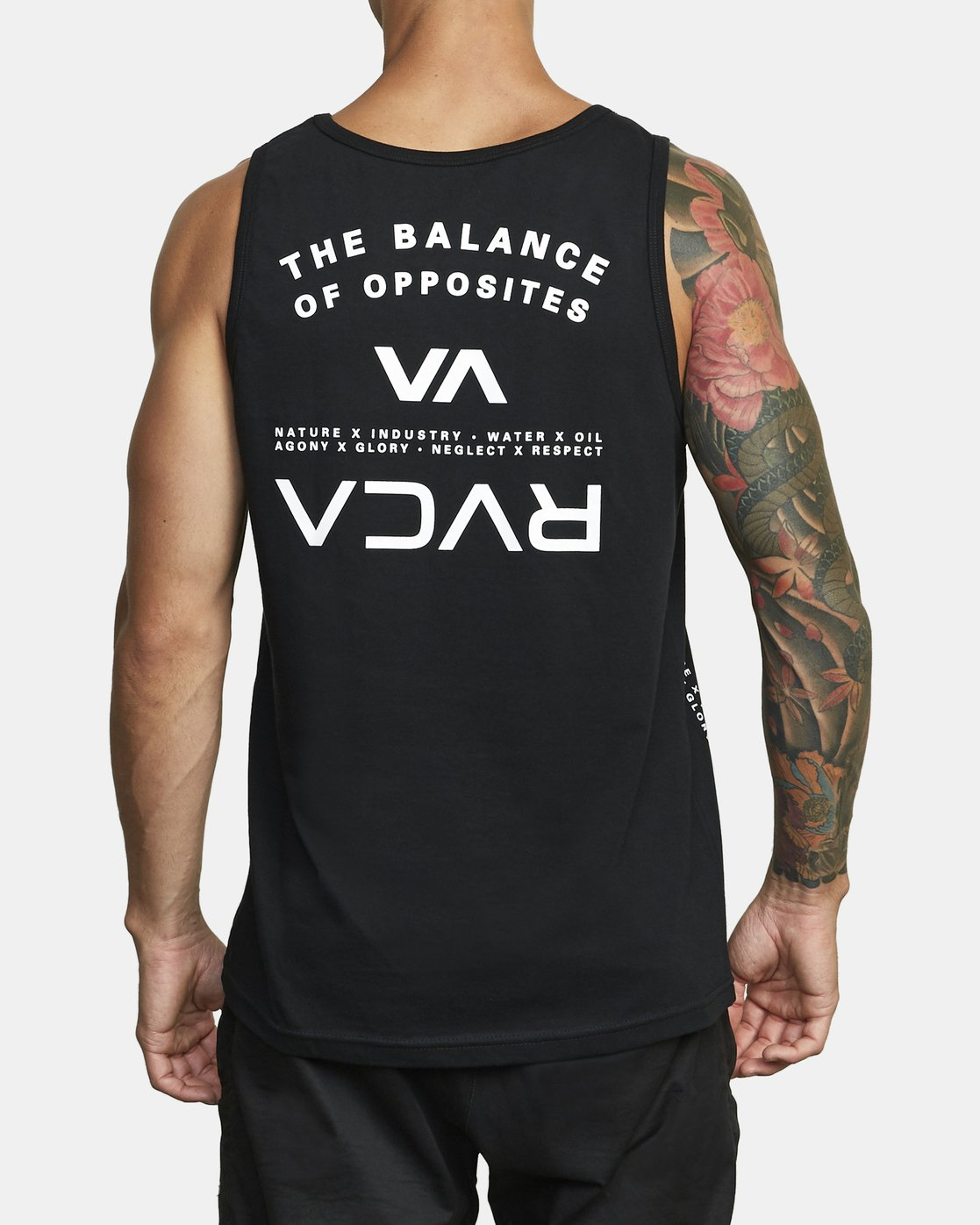 5 BALANCE ARC TANK TOP Black V4813RBA RVCA