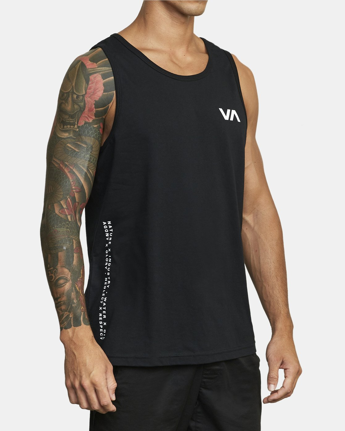 4 BALANCE ARC TANK TOP Black V4813RBA RVCA