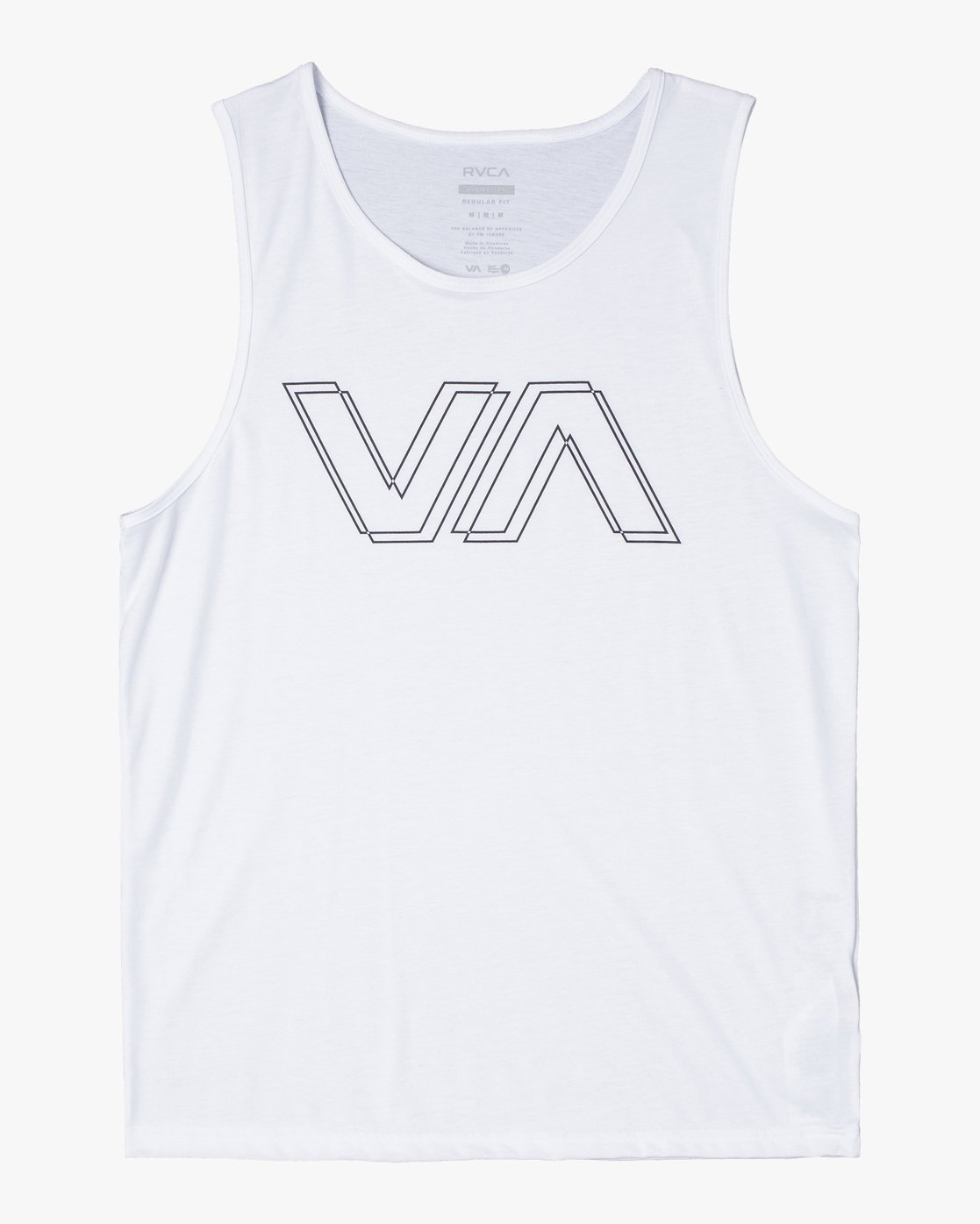 0 VA OFFSET TANK TOP White V4821ROF RVCA