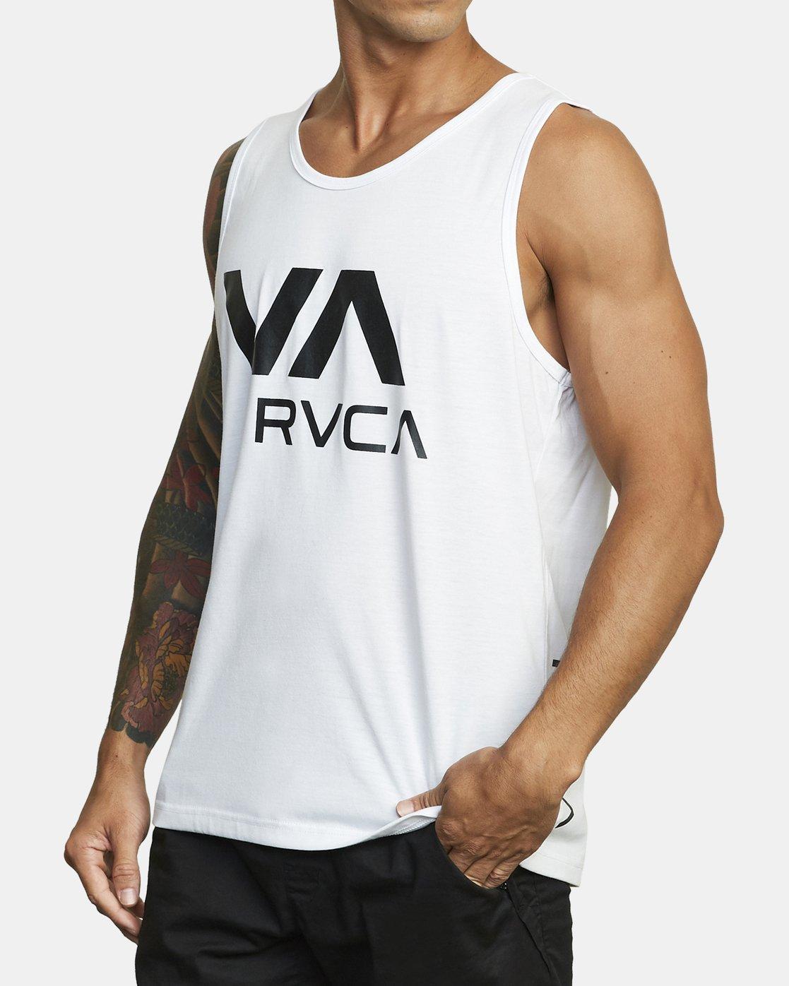 1 VA RVCA TANK TOP White V4823RVR RVCA