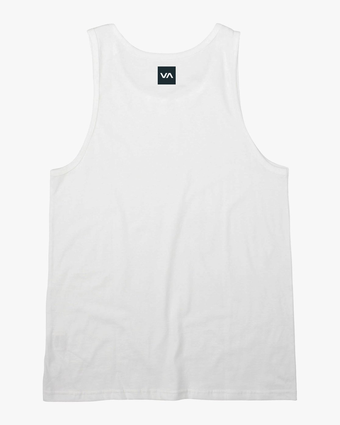 1 RVCA Club Tank Top White V482VRRC RVCA
