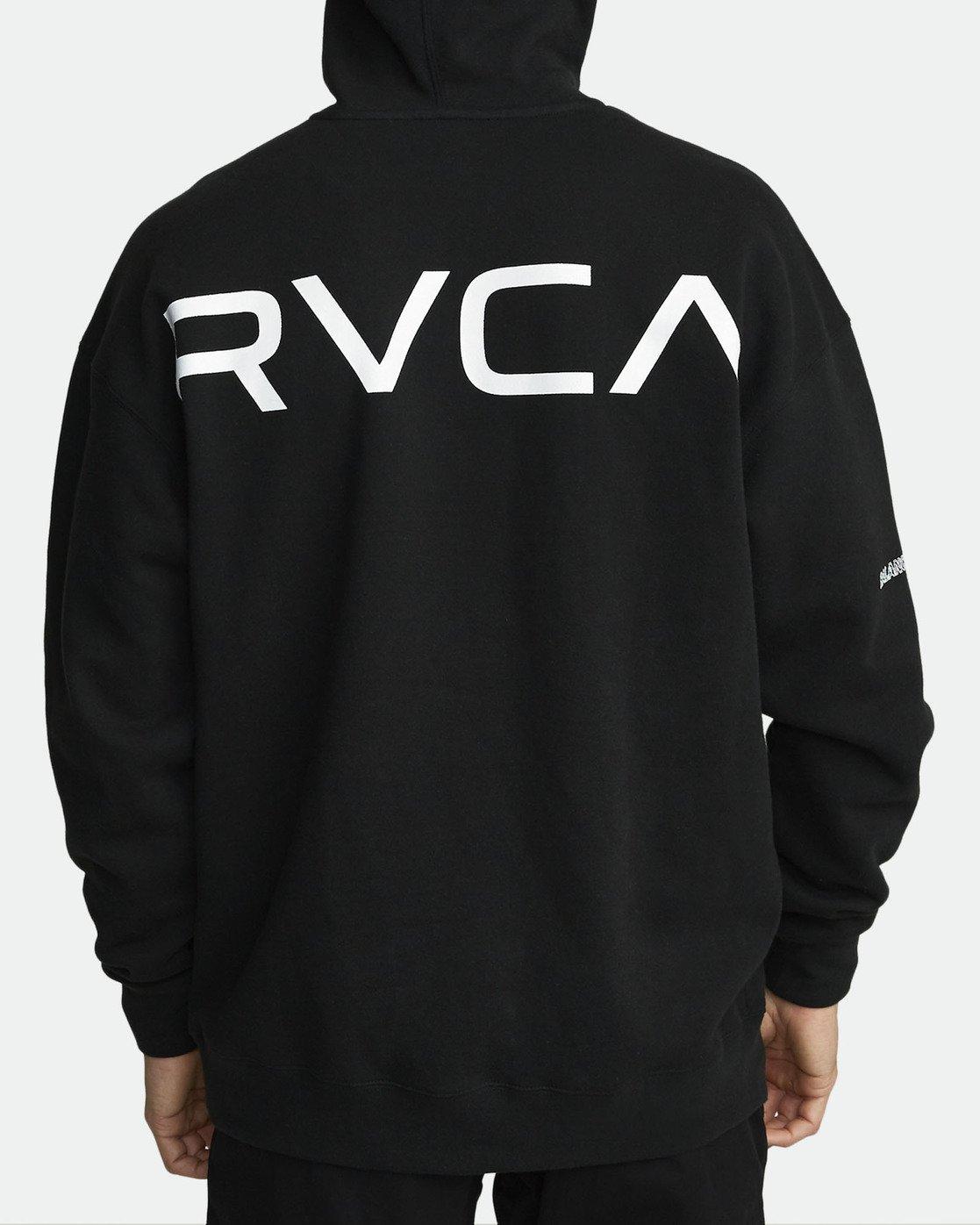 3 SPORT HOODIE Black V6011RSH RVCA
