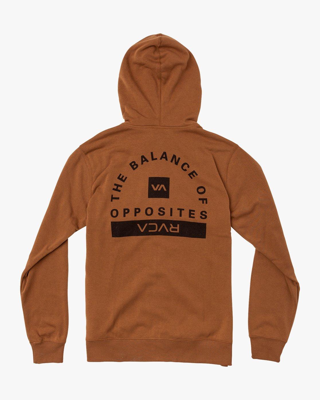 1 Cage Hoodie Orange V602TRCH RVCA
