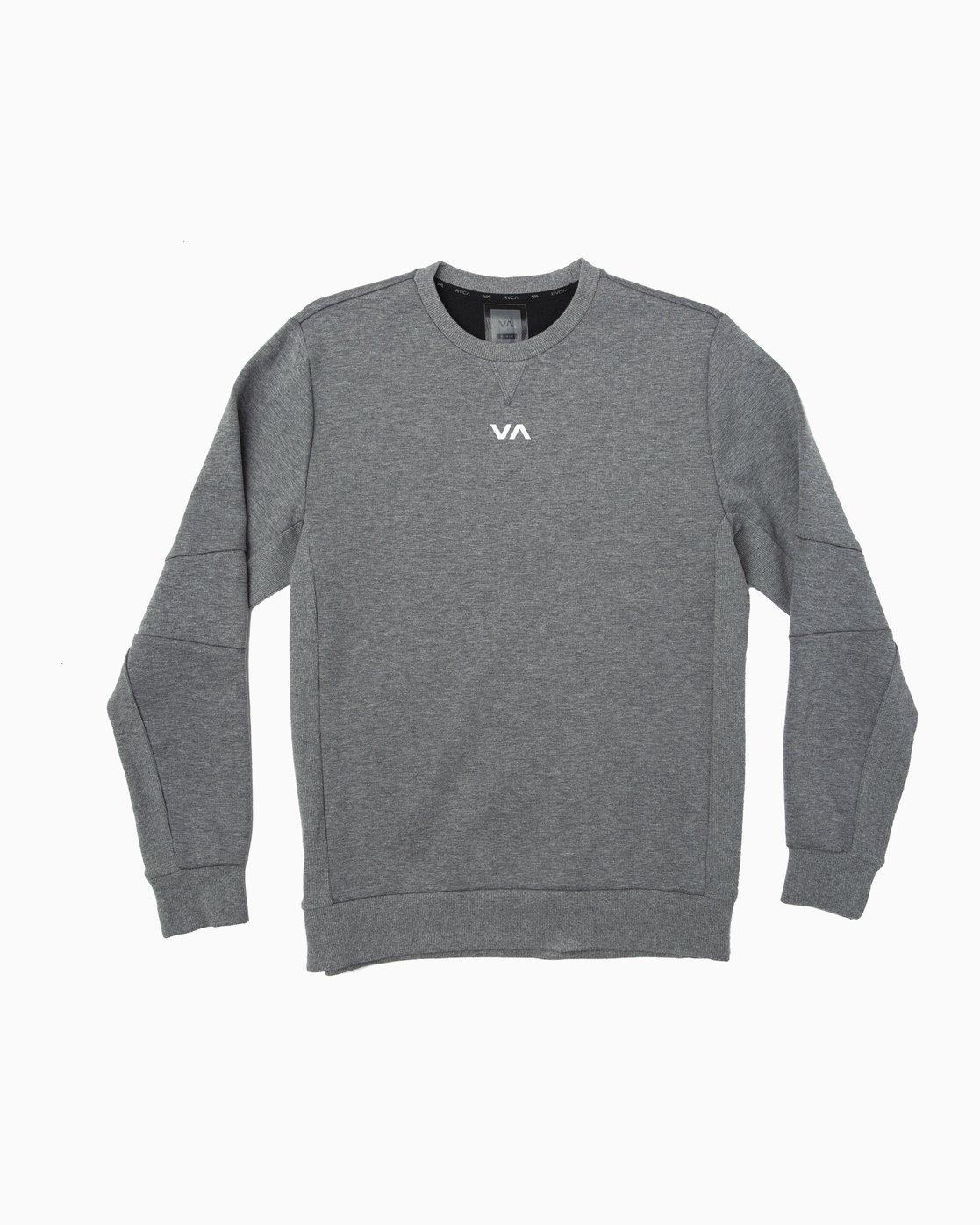 0 Sideline Sweatshirt Grey V603TRSC RVCA