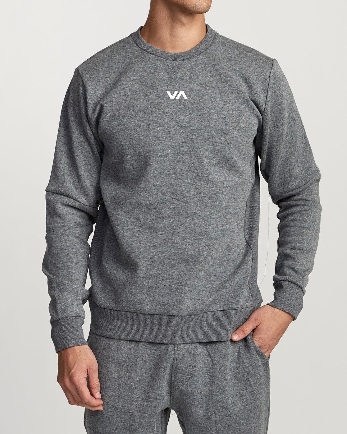 1 Sideline Sweatshirt Grey V603TRSC RVCA