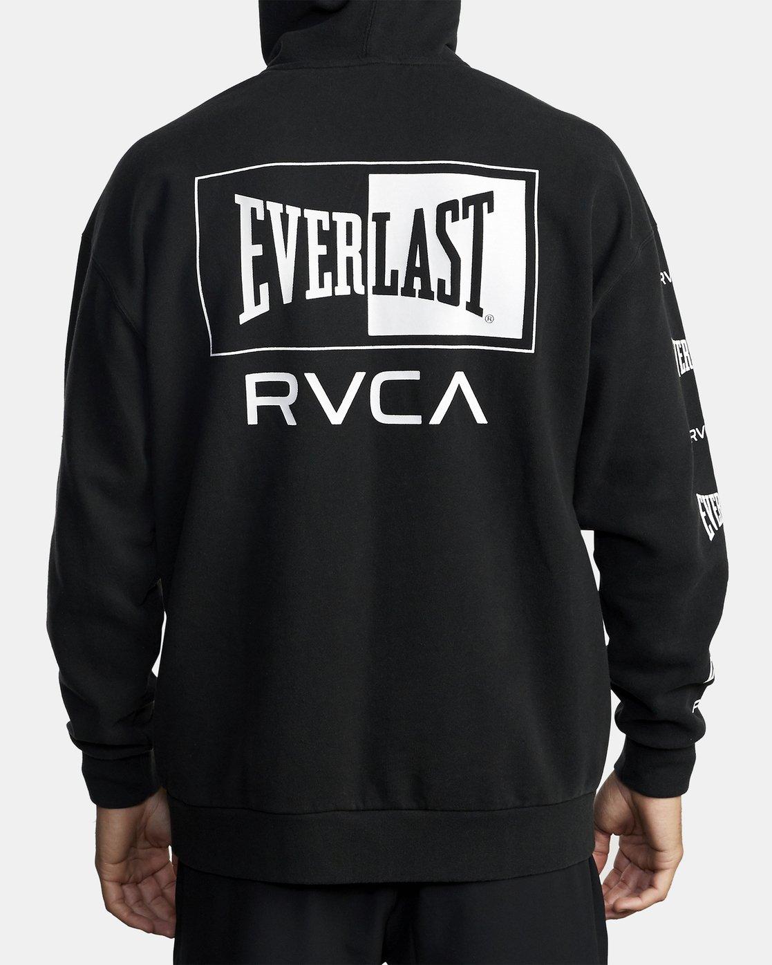 2 EVERLAST SPORT HOODIE Black V6041REH RVCA