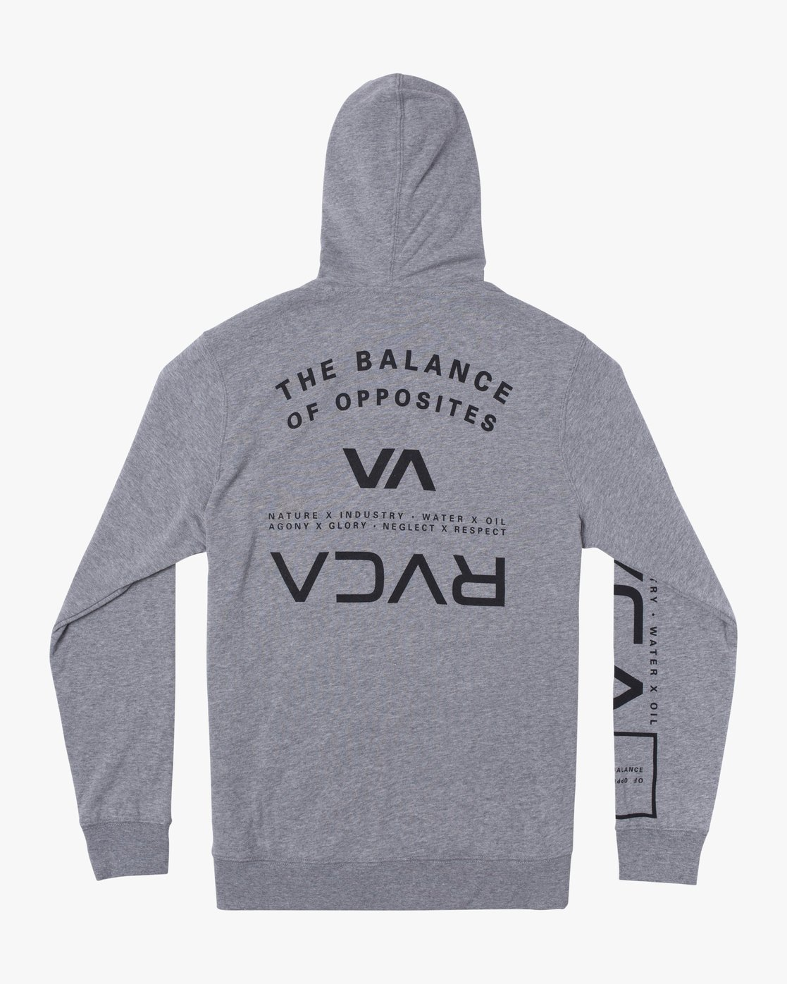 1 SWIFT HOODIE Grey V6053RSH RVCA