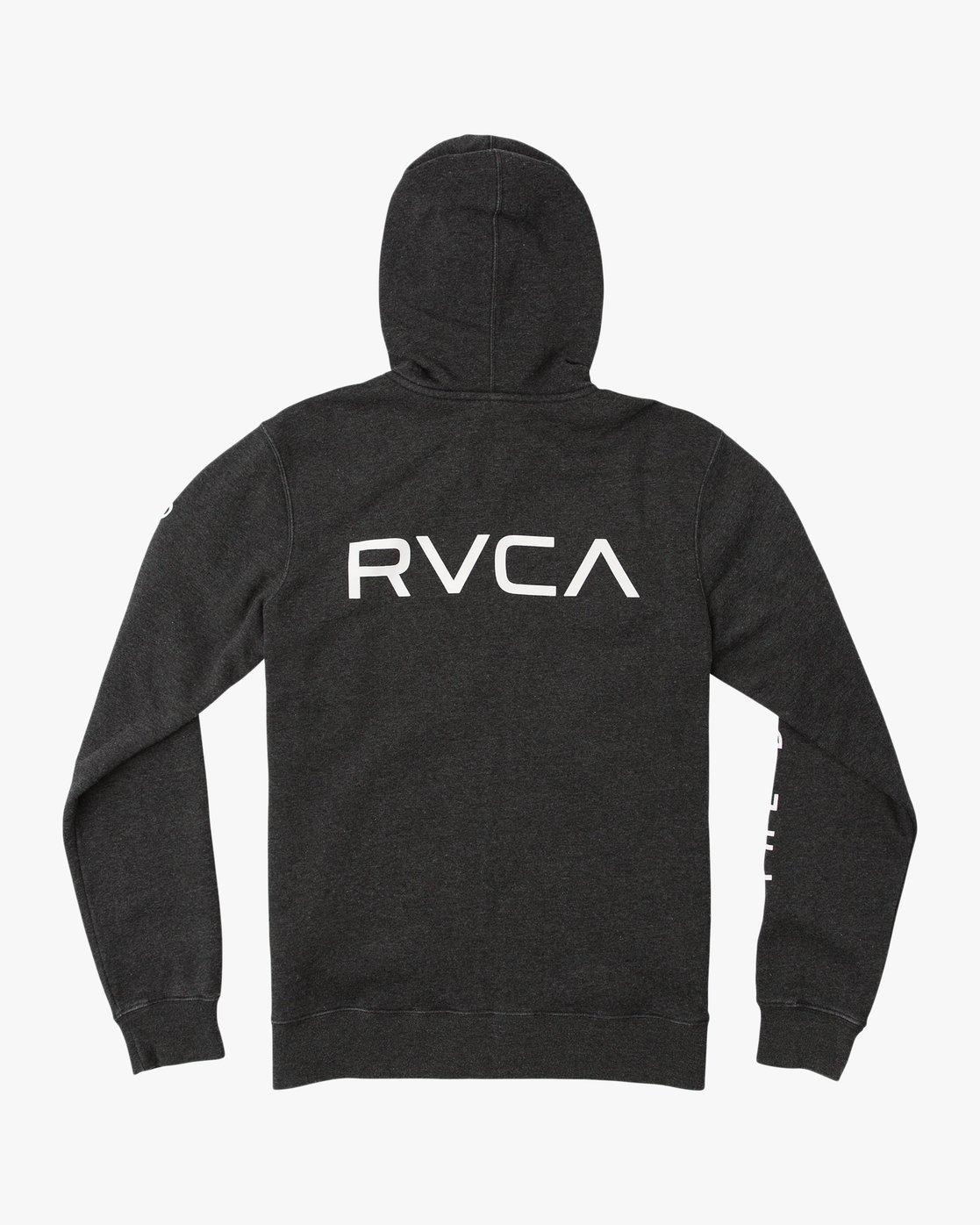 1 VA Guard Fleece Hoodie  V605QRGH RVCA