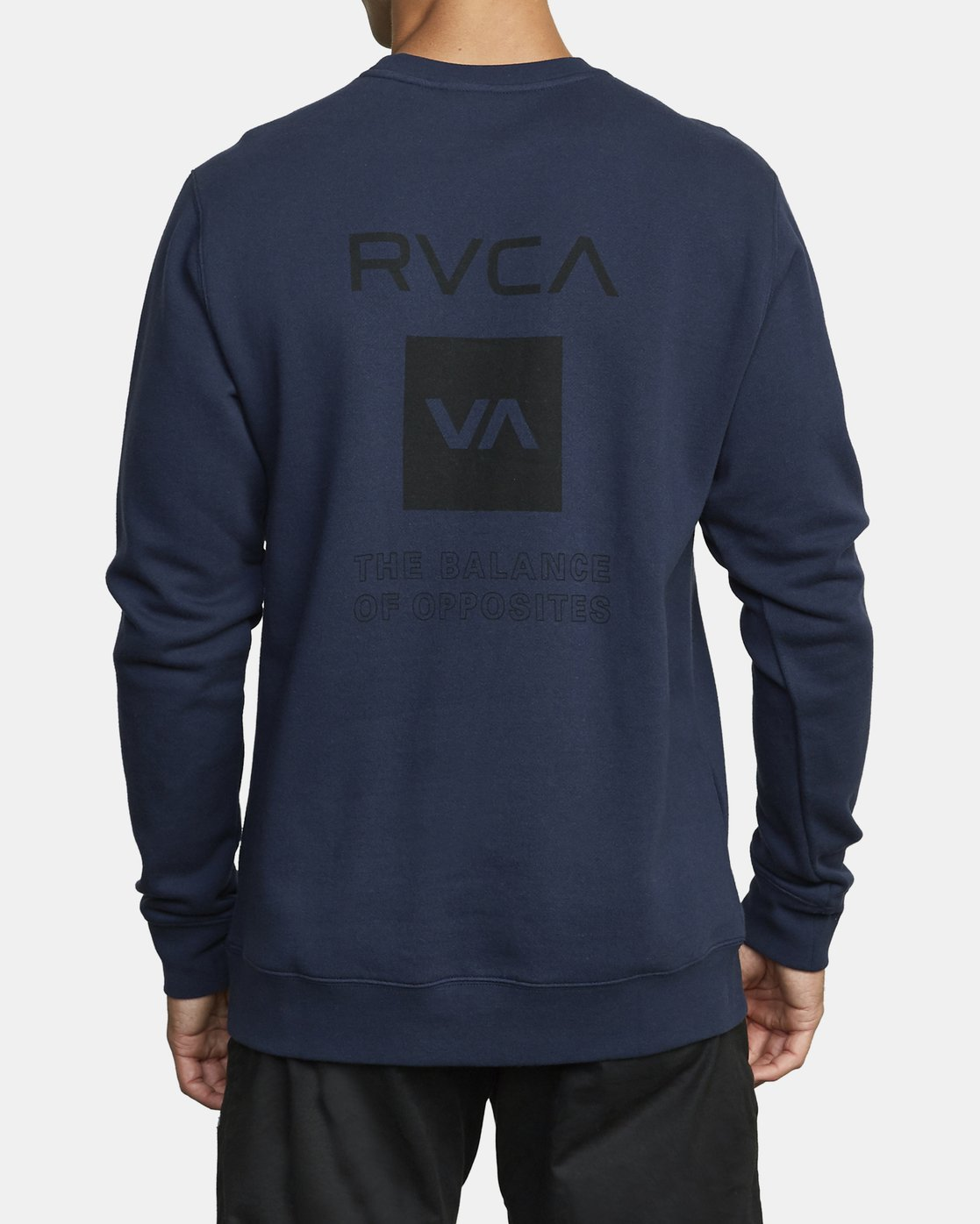 1 SPORT GRAPHIC PULLOVER SWEATSHIRT Blue V6063RSP RVCA