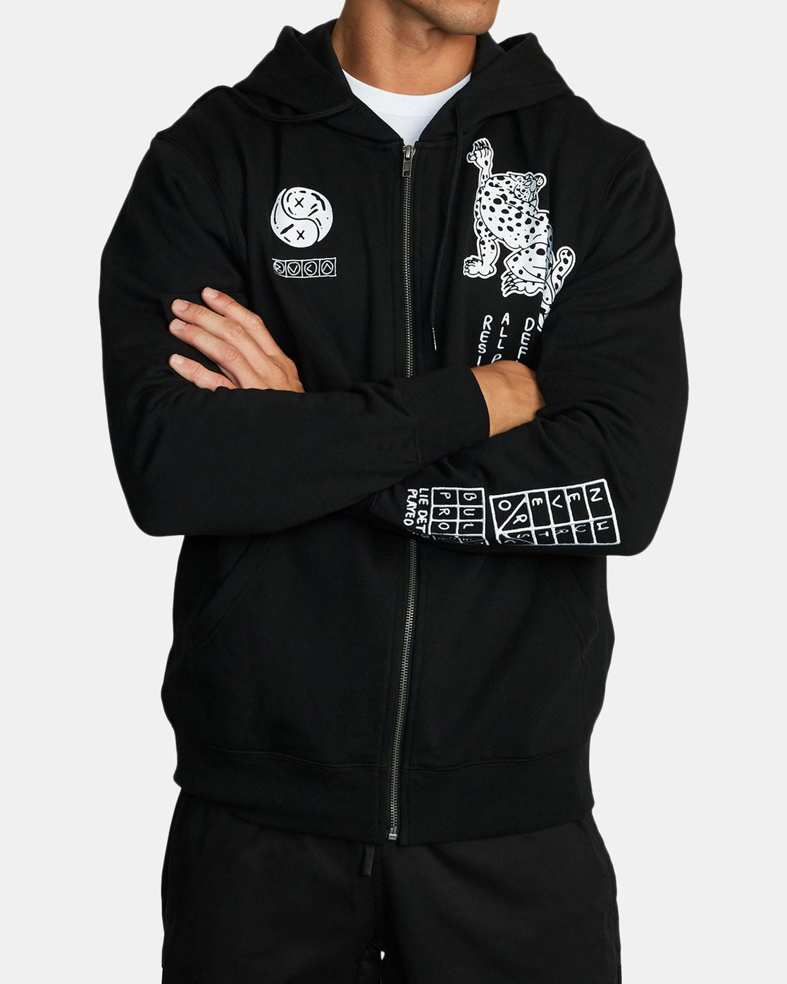 1 BULLET PROOF FLEECE Black V6172RBU RVCA