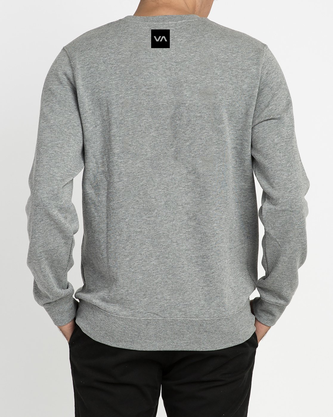 3 Reverted Crew Sweatshirt Grey V622TRRR RVCA