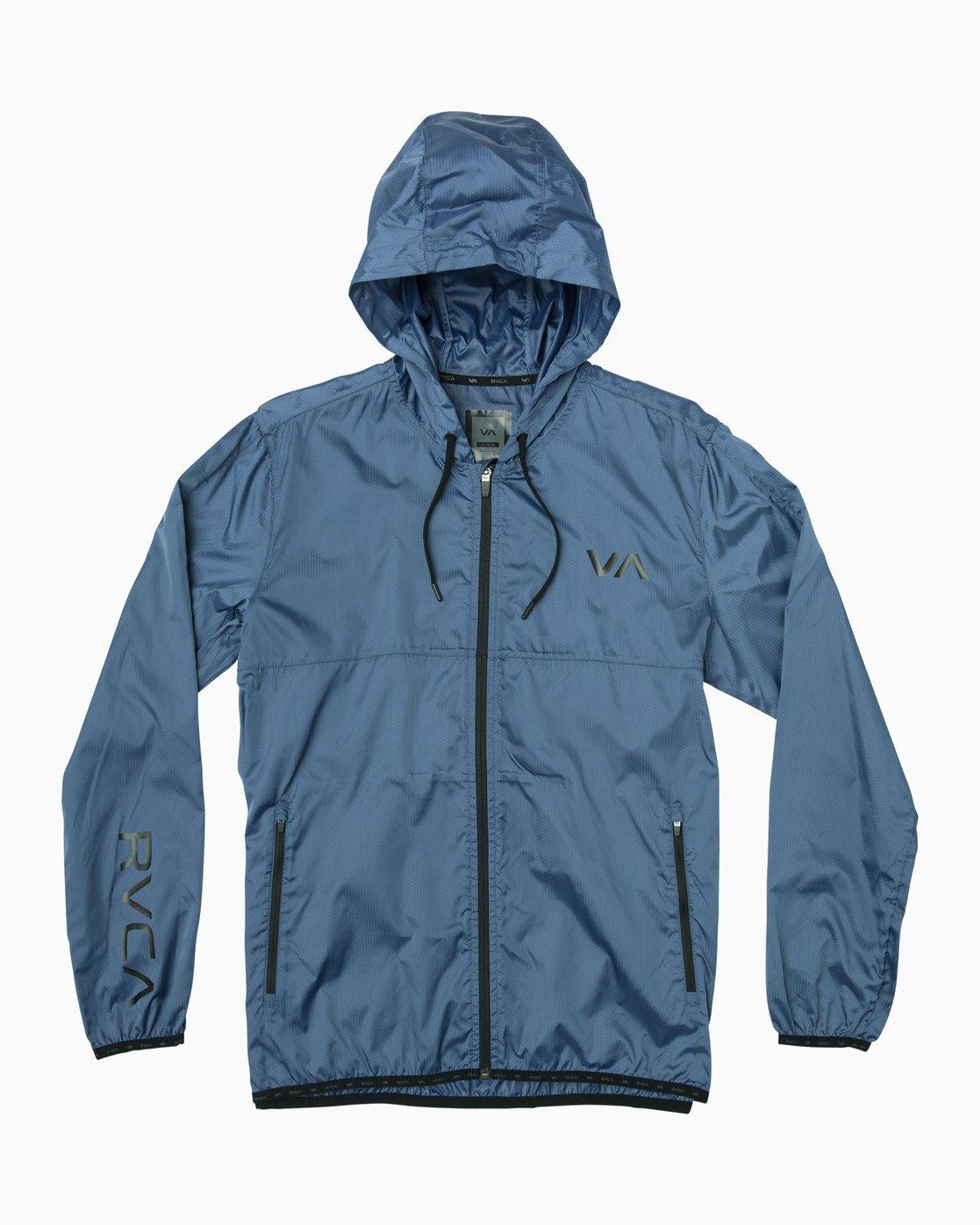 0 Hexstop IV Jacket Blue V701TRHP RVCA