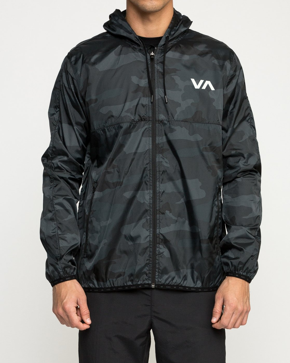 1 Hexstop IV Jacket Brown V701TRHP RVCA
