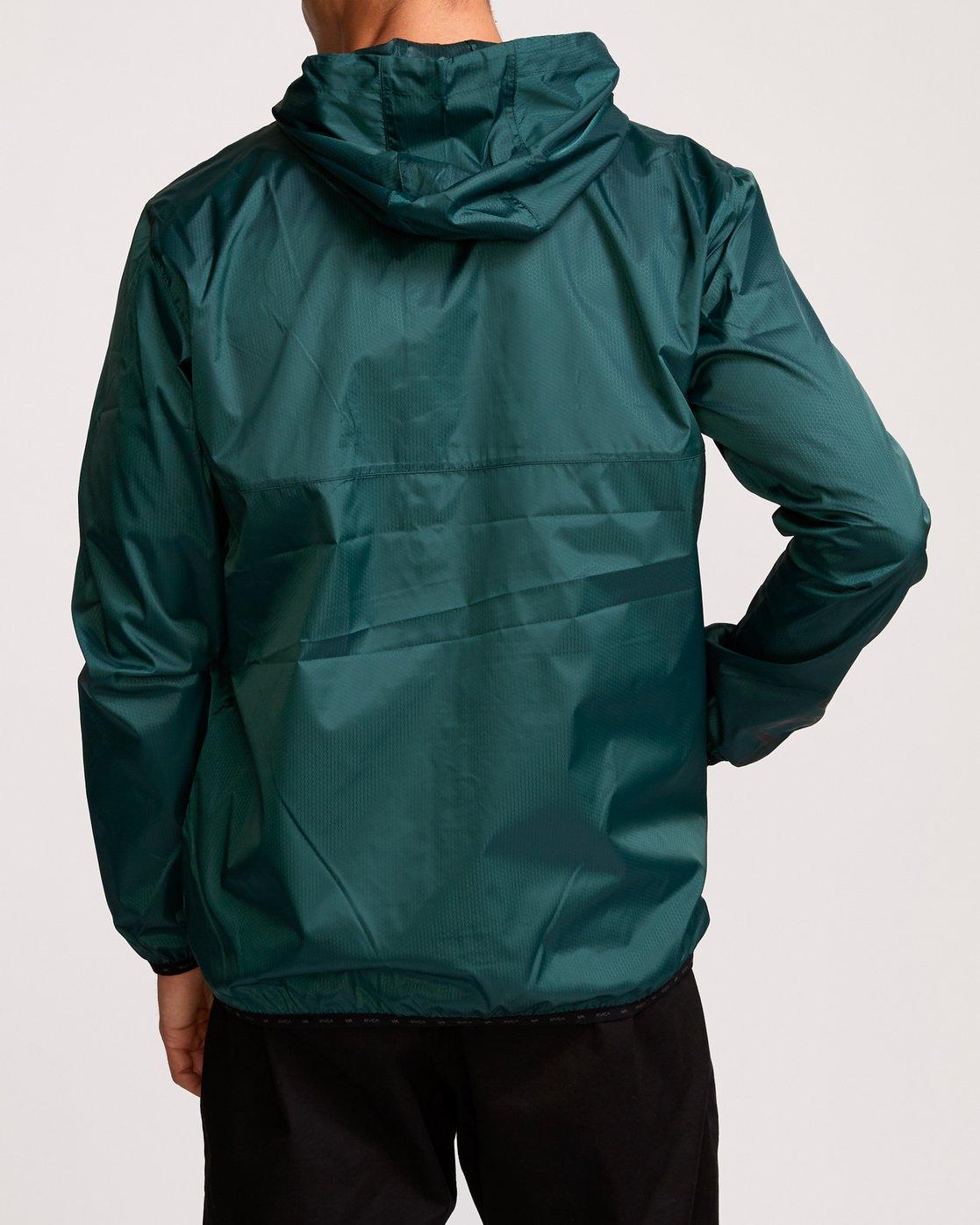 5 Hexstop IV Jacket Green V701TRHP RVCA