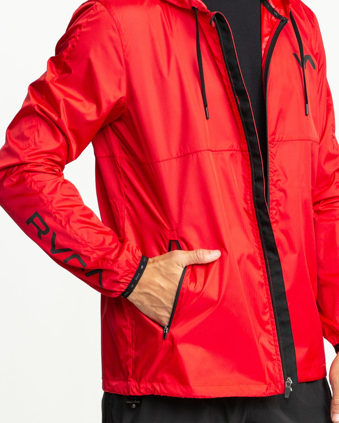 5 Hexstop IV Jacket Red V701TRHP RVCA