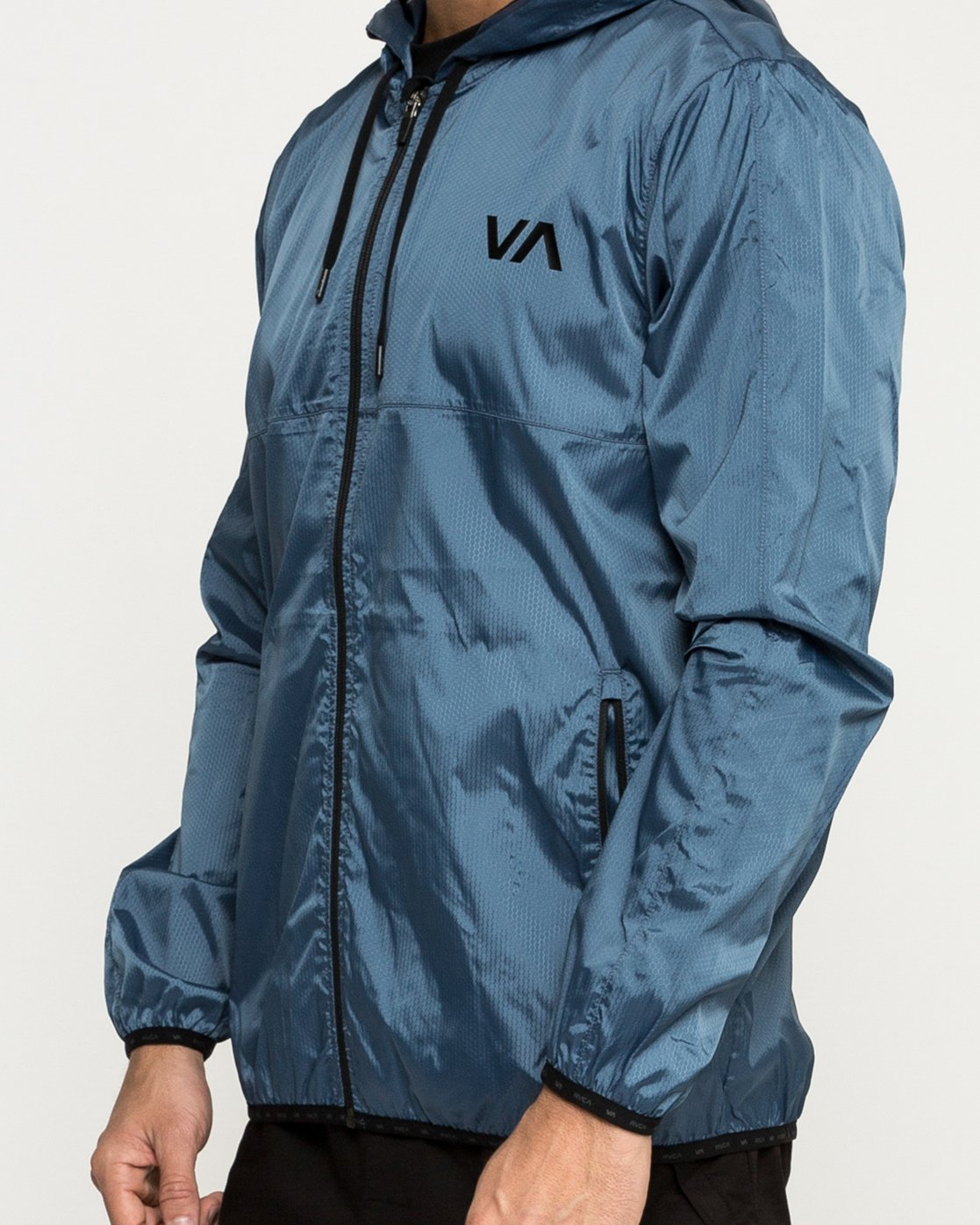 5 Hexstop IV Jacket Blue V701TRHP RVCA