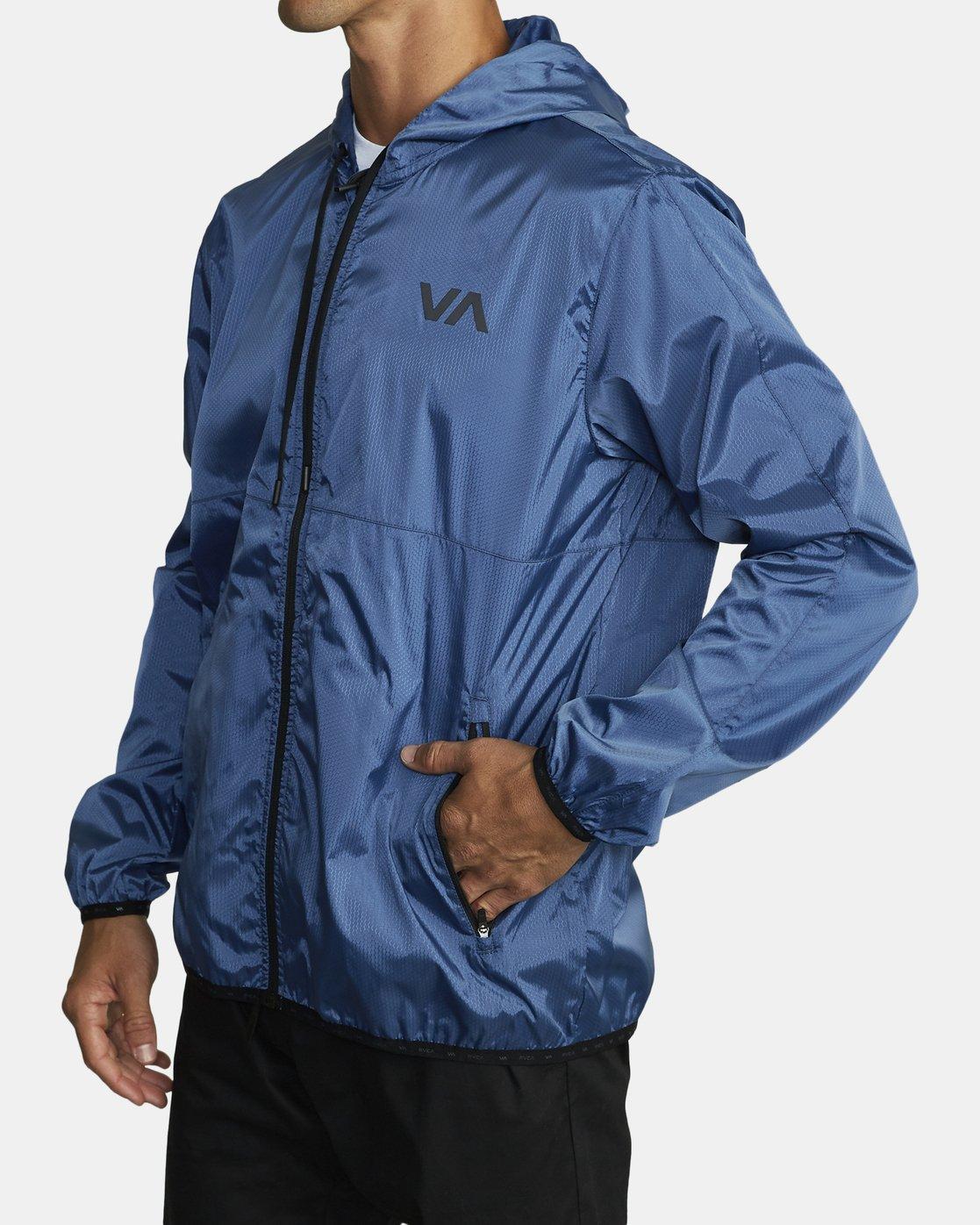 3 Hexstop IV Jacket Blue V701TRHP RVCA