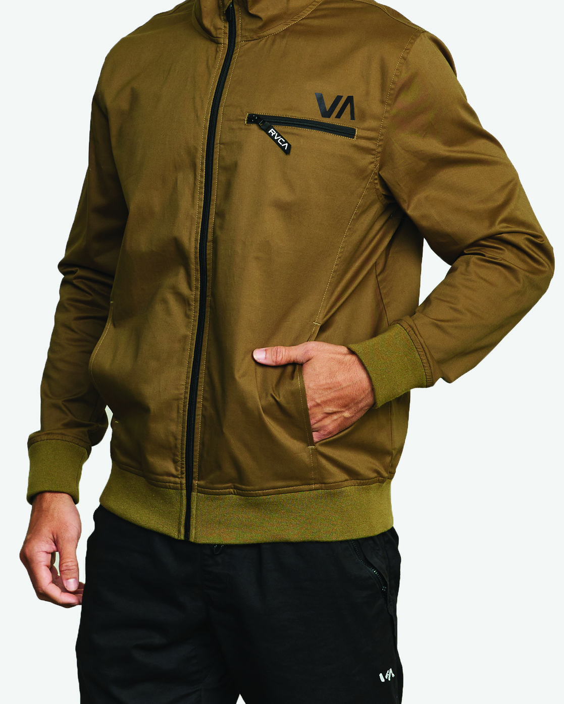 1 SPECTRUM SPORT JACKET Green V7023RSJ RVCA