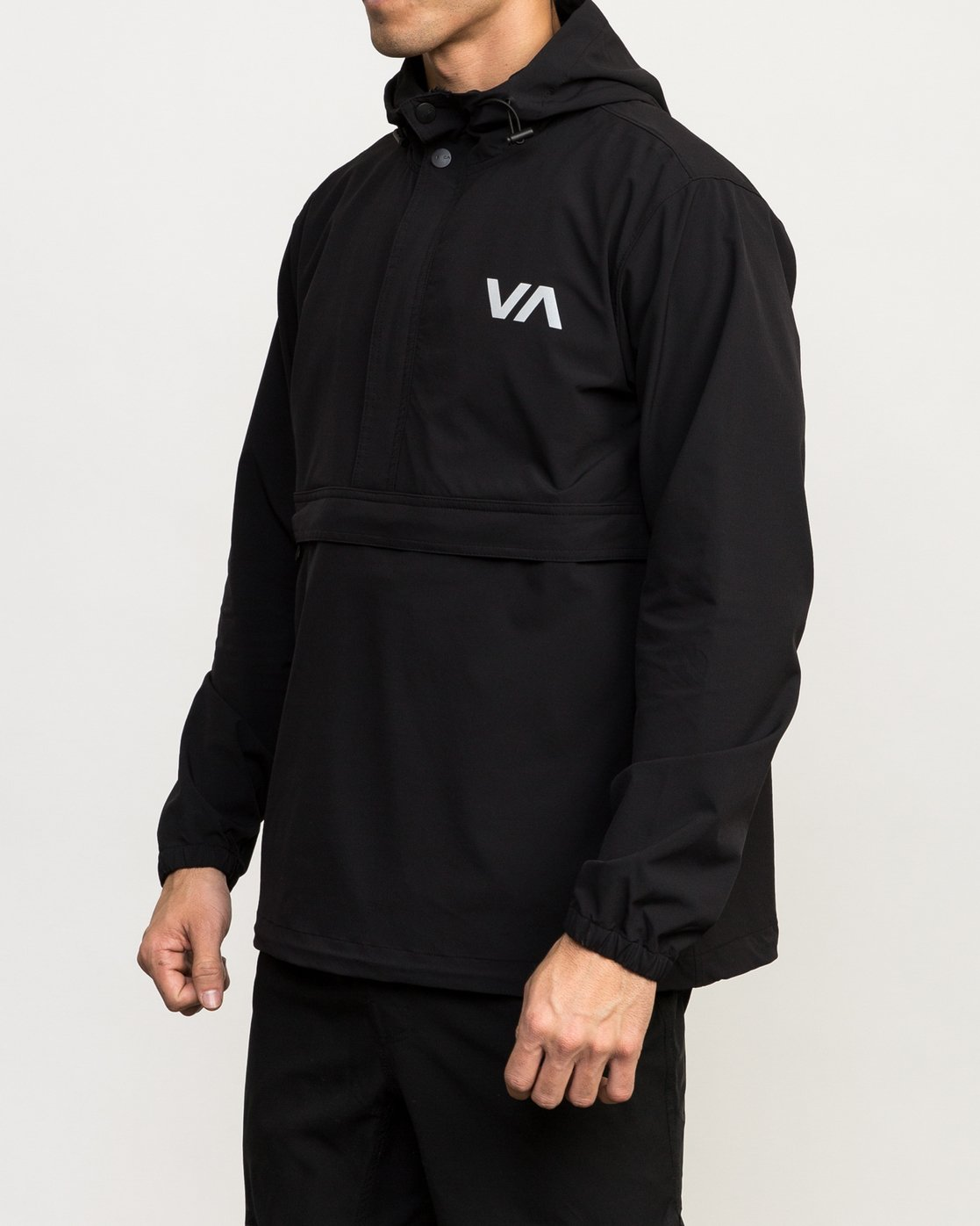 3 VA Anorak Jacket Black V702QRAN RVCA