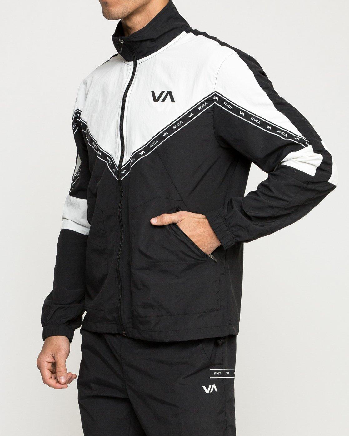 2 Control Track Jacket Black V703TRCO RVCA